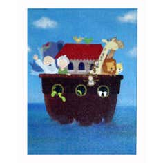 Artistic Britain Kids The Ark Printed Canvas