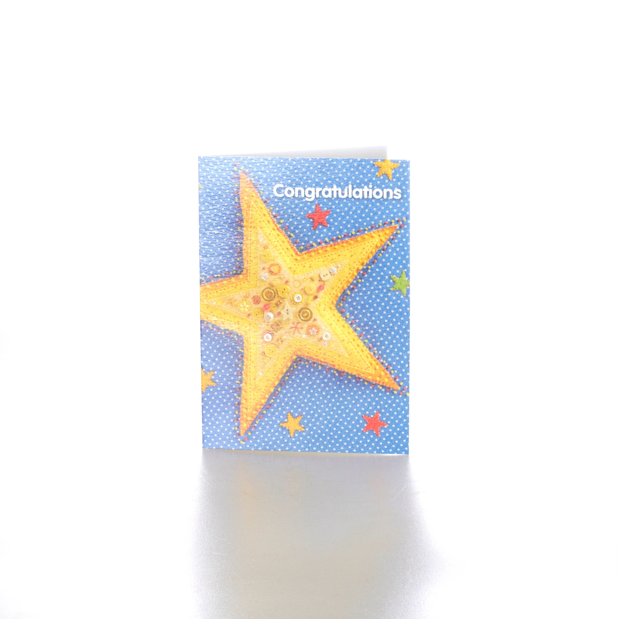 Born to Stitch Congratulations Star Card