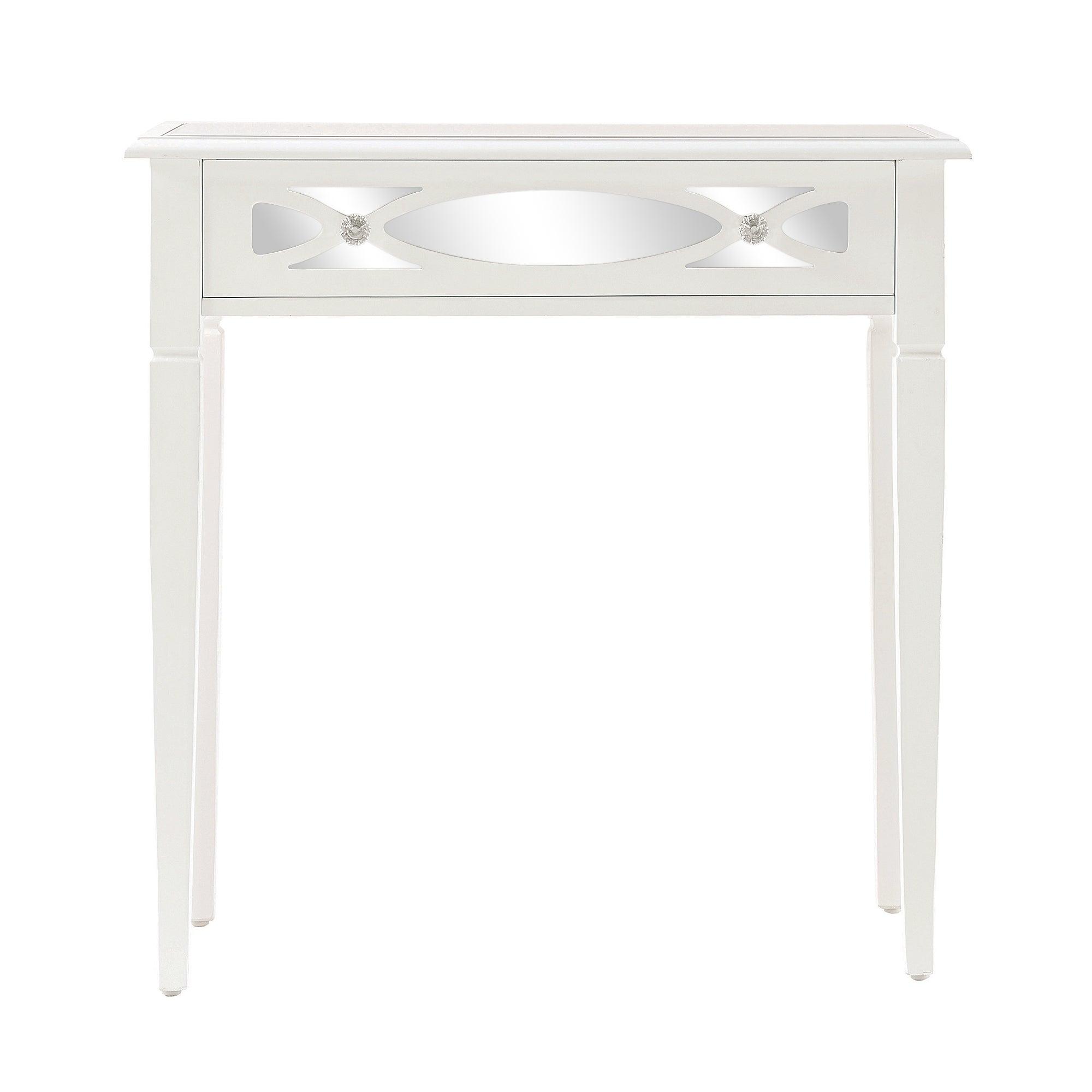 Nouveau White Console Table