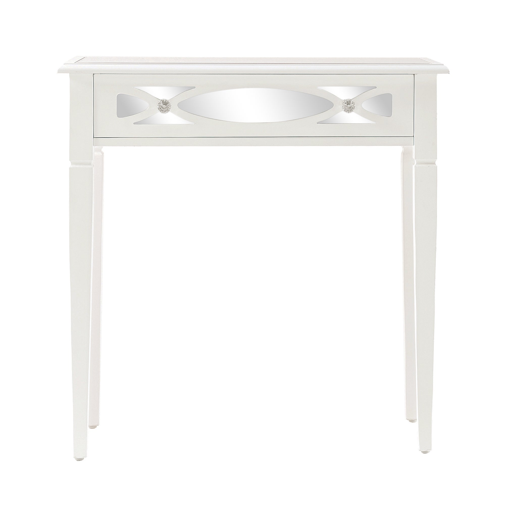 Nouveau White Console Table