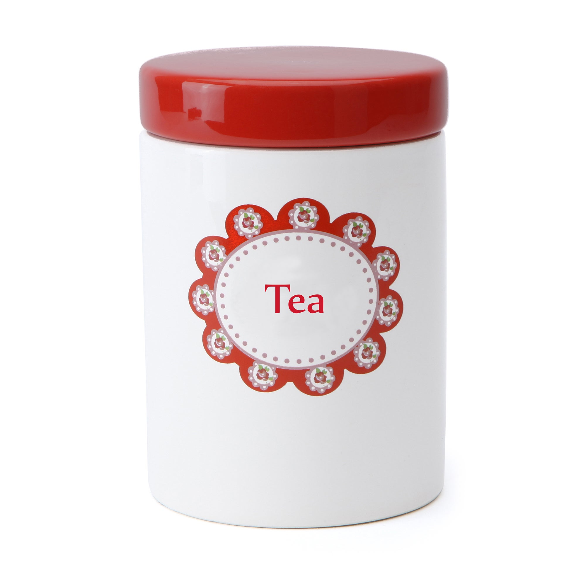 Rose and Ellis Allexton Collection Tea Canister
