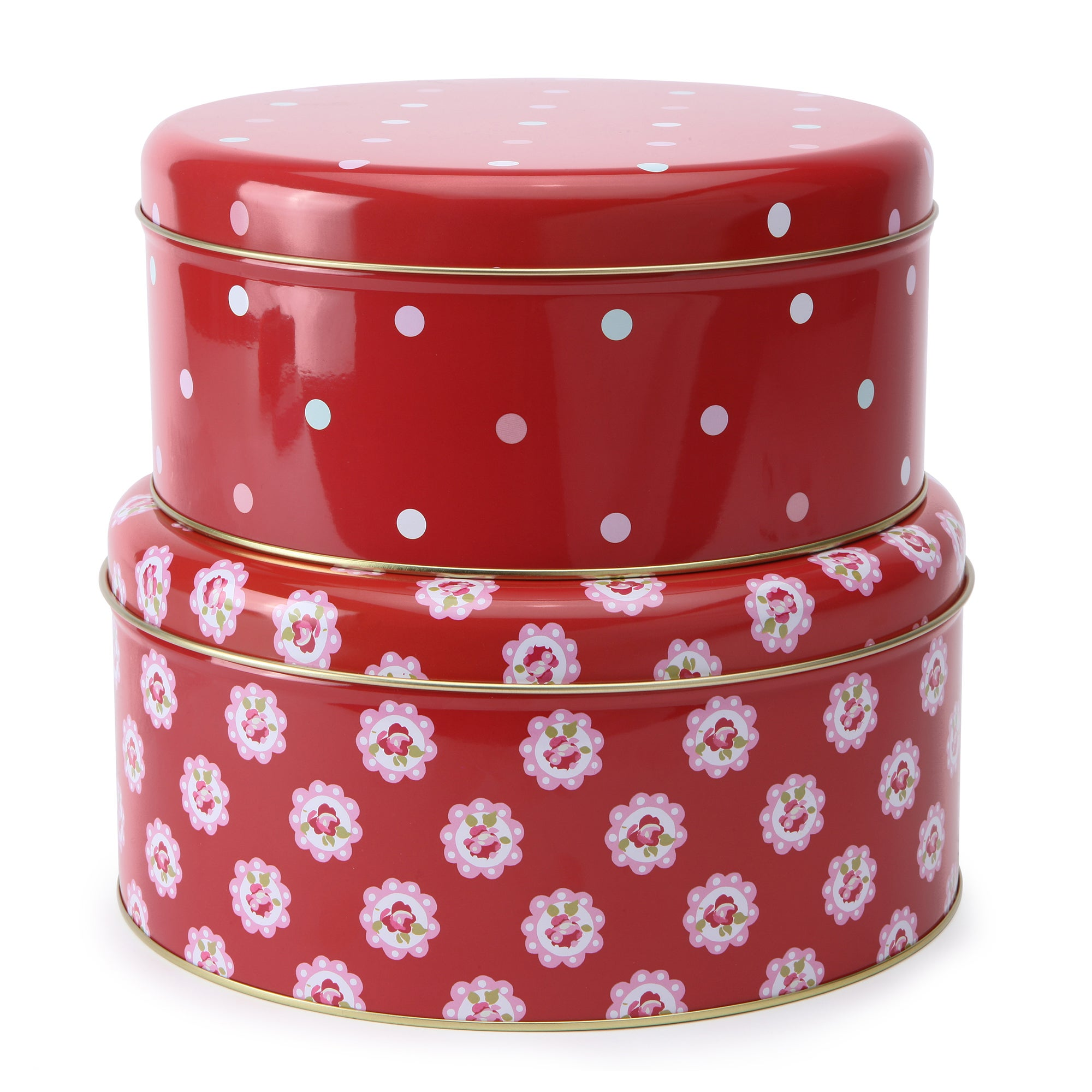 Rose and Ellis Allexton Collection Set of Two Cake Tins