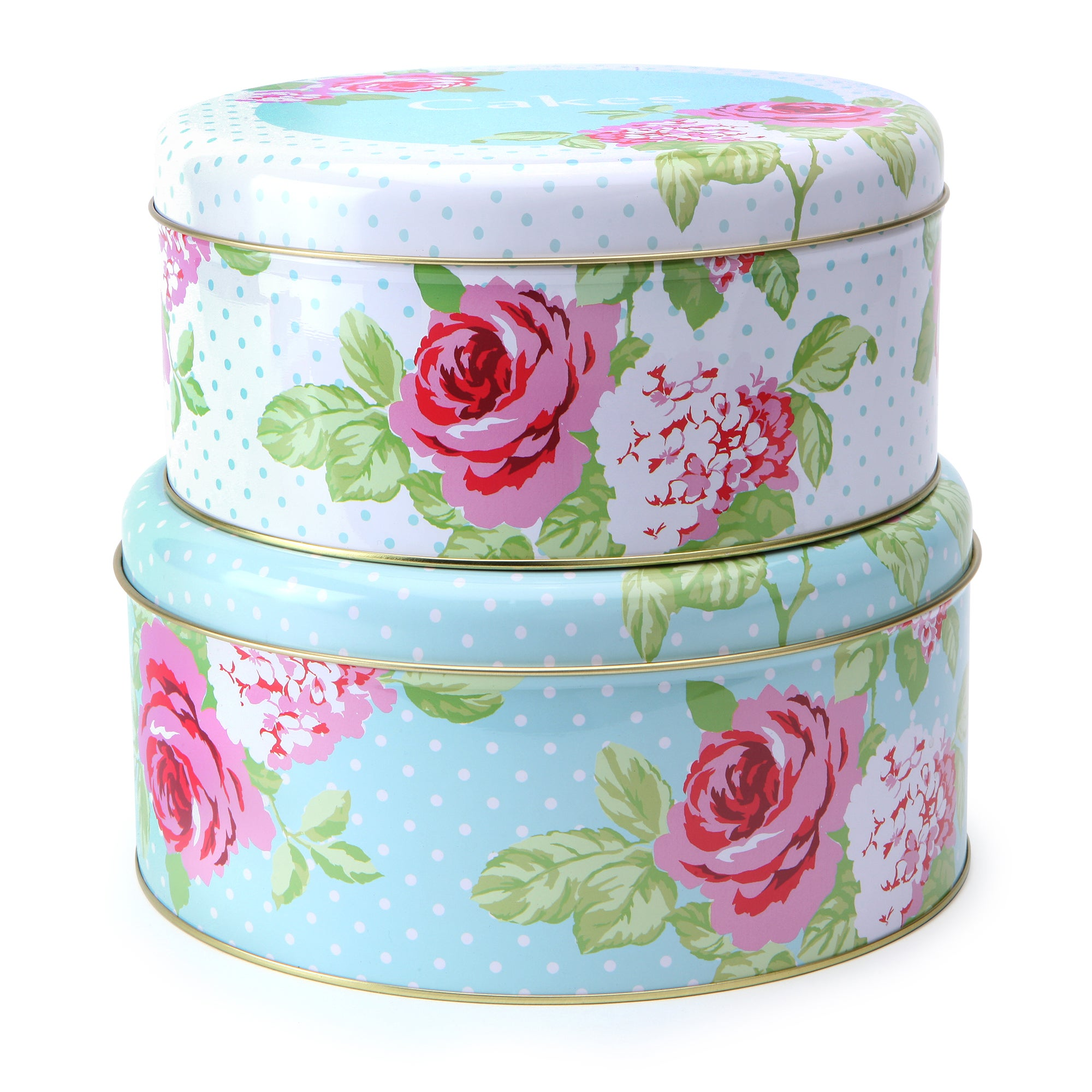 Rose and Ellis Clarendon Collection Set of Two Cake Tins