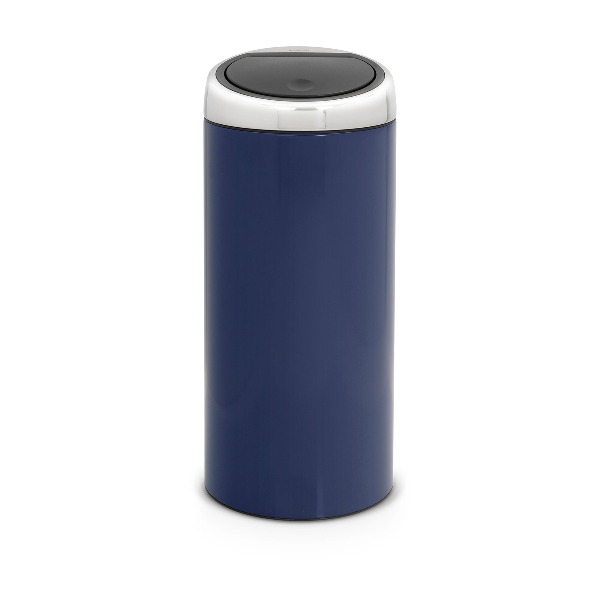 Brabantia Blue 30 Litre Lacquered Steel Touch Bin