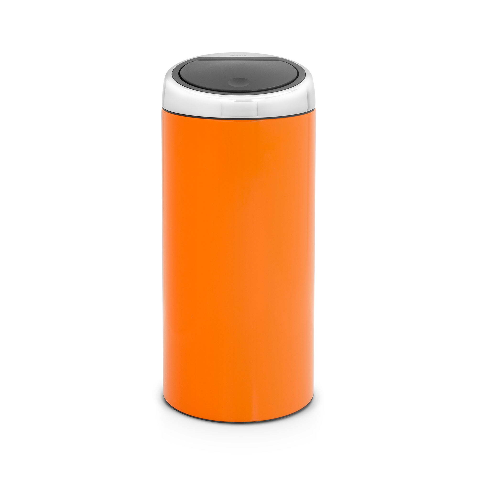 Brabantia Orange 30 Litre Lacquered Steel Touch Bin