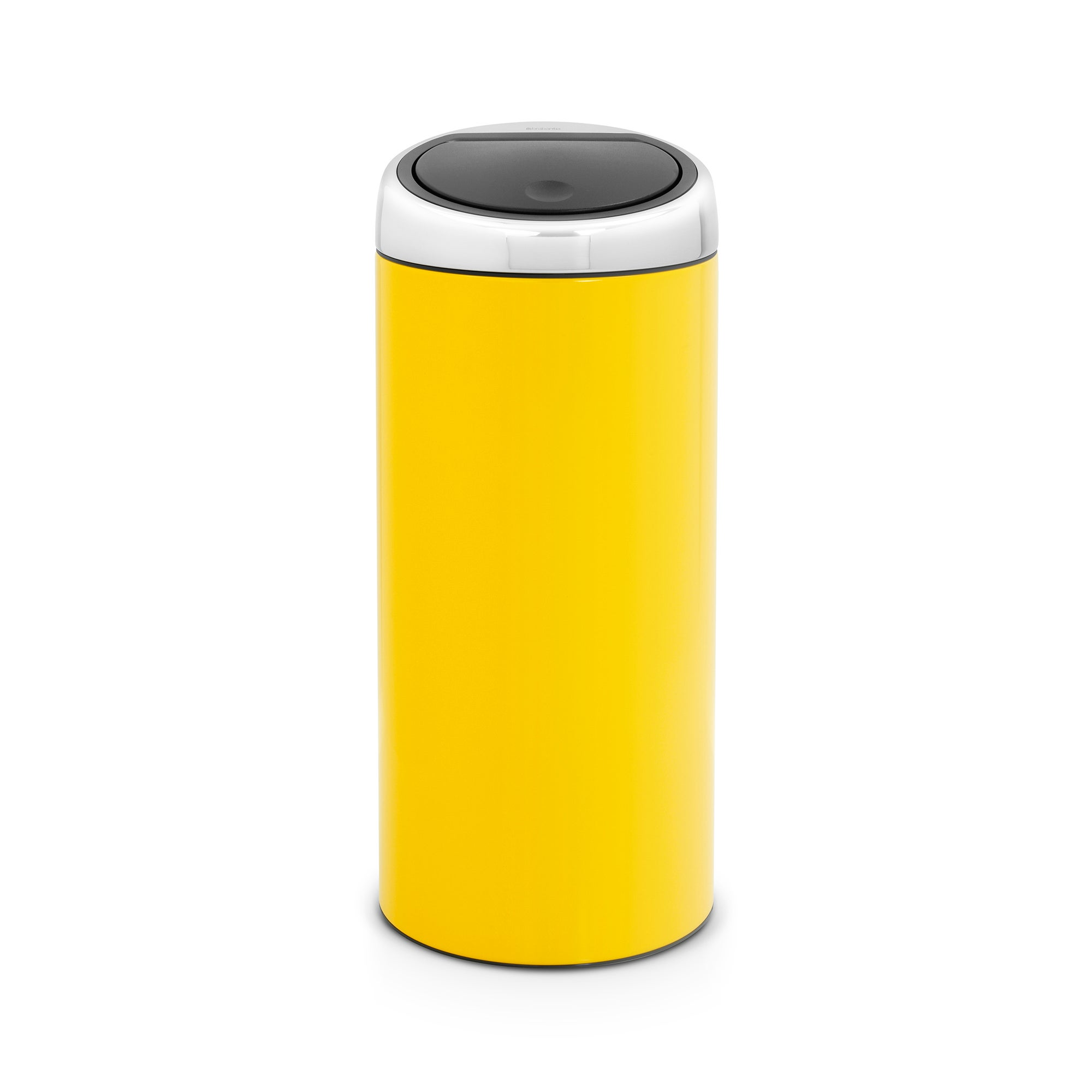 Brabantia Yellow 30 Litre Lacquered Steel Touch Bin