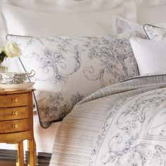 Dorma Cream Chaumont Collection Housewife Pillowcase