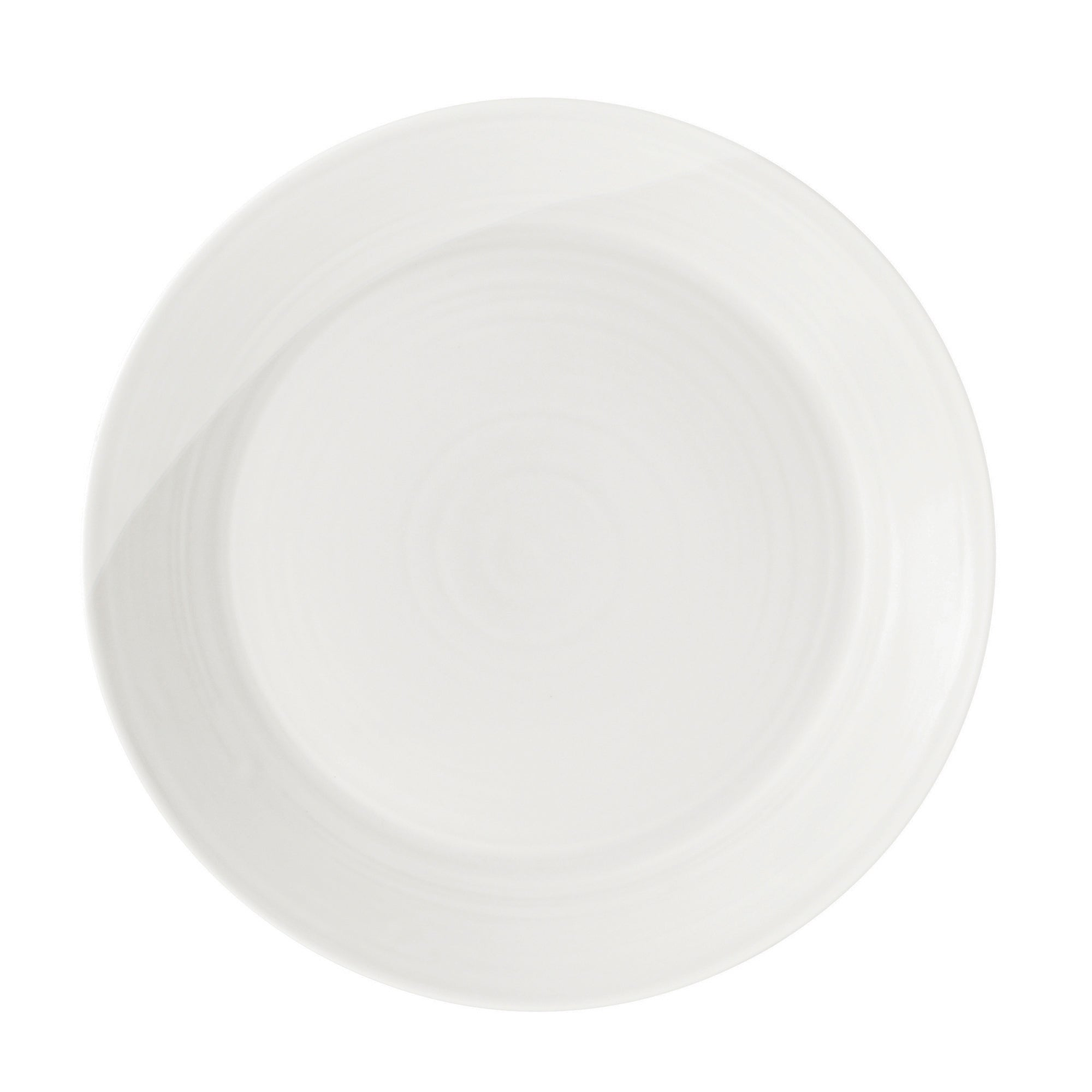 Royal Doulton White 1815 Collection Dinner Plate
