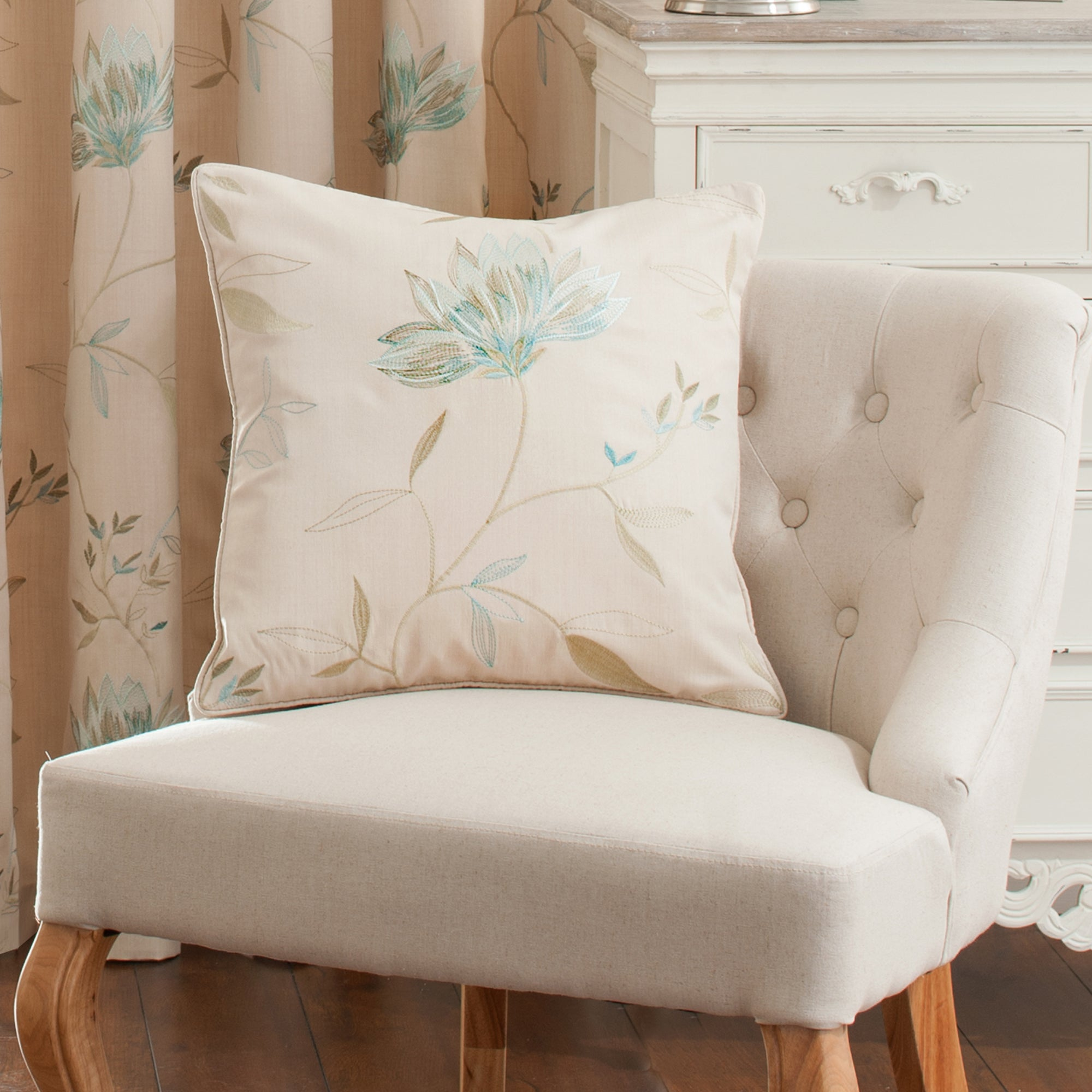 Teal Amelia Collection Cushion