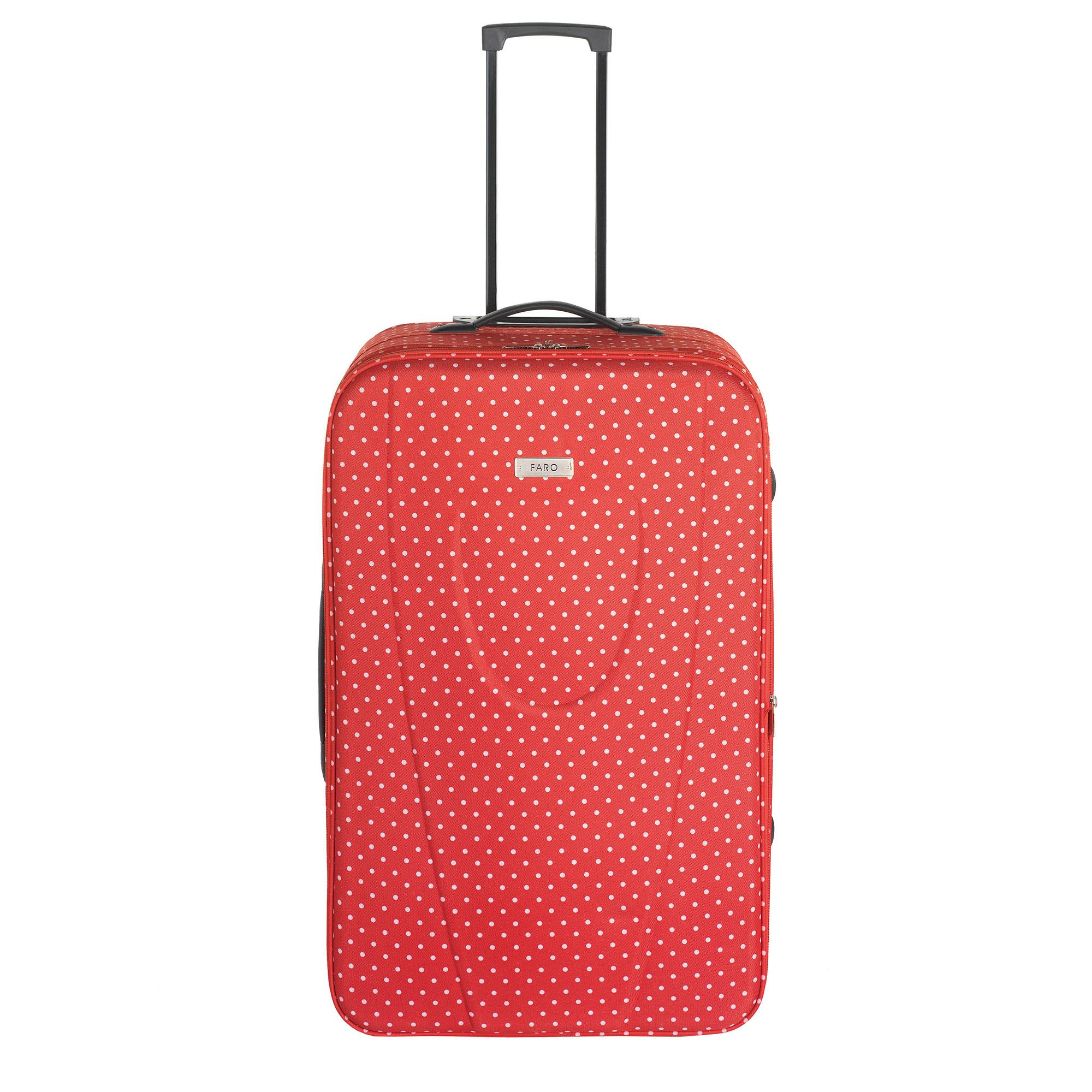 Faro Red Dot Large Suitcase