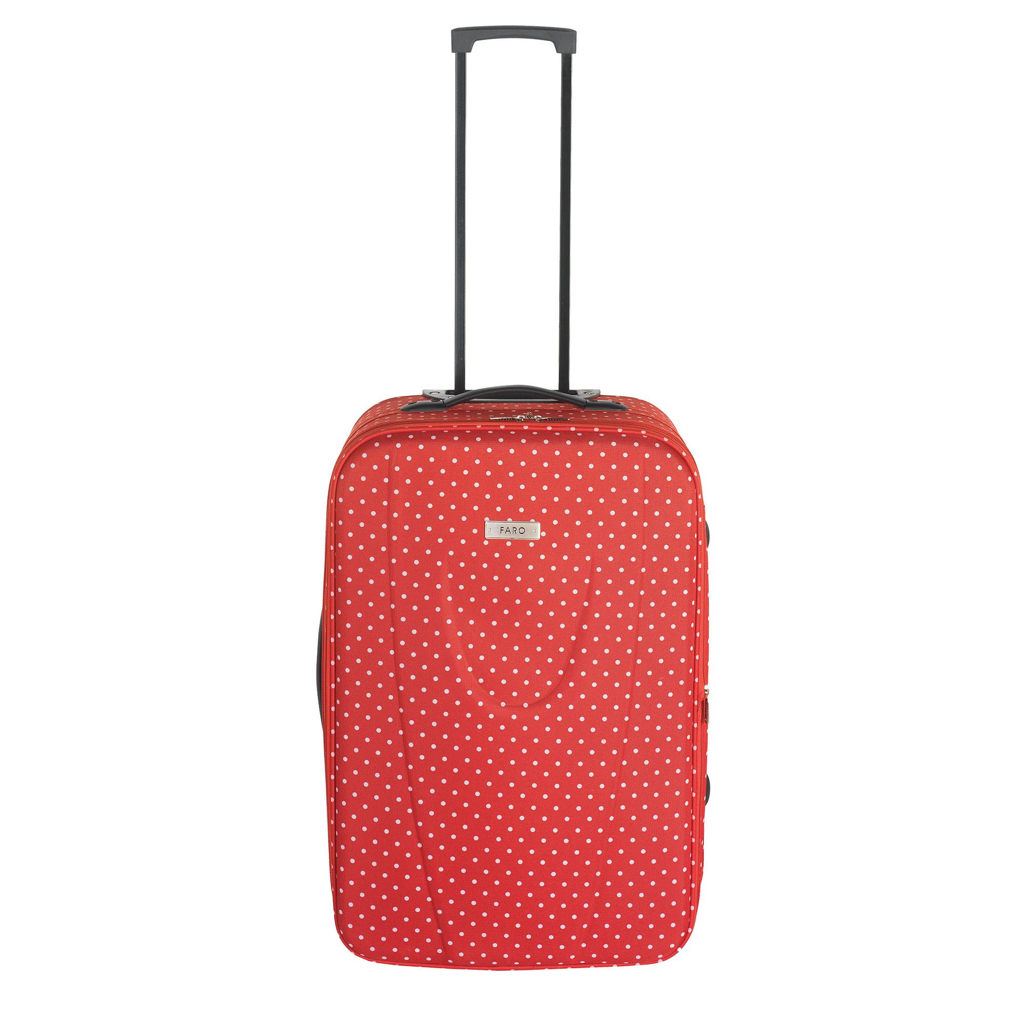 Faro Red Dot Medium Suitcase