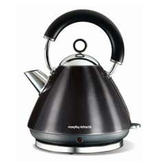 Morphy Richards Accents Black Pyramid Kettle