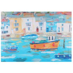 Artistic Impressions Weymouth Harbour Printed Canvas