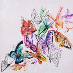 Artistic Impressions Butterflies Printed Canvas