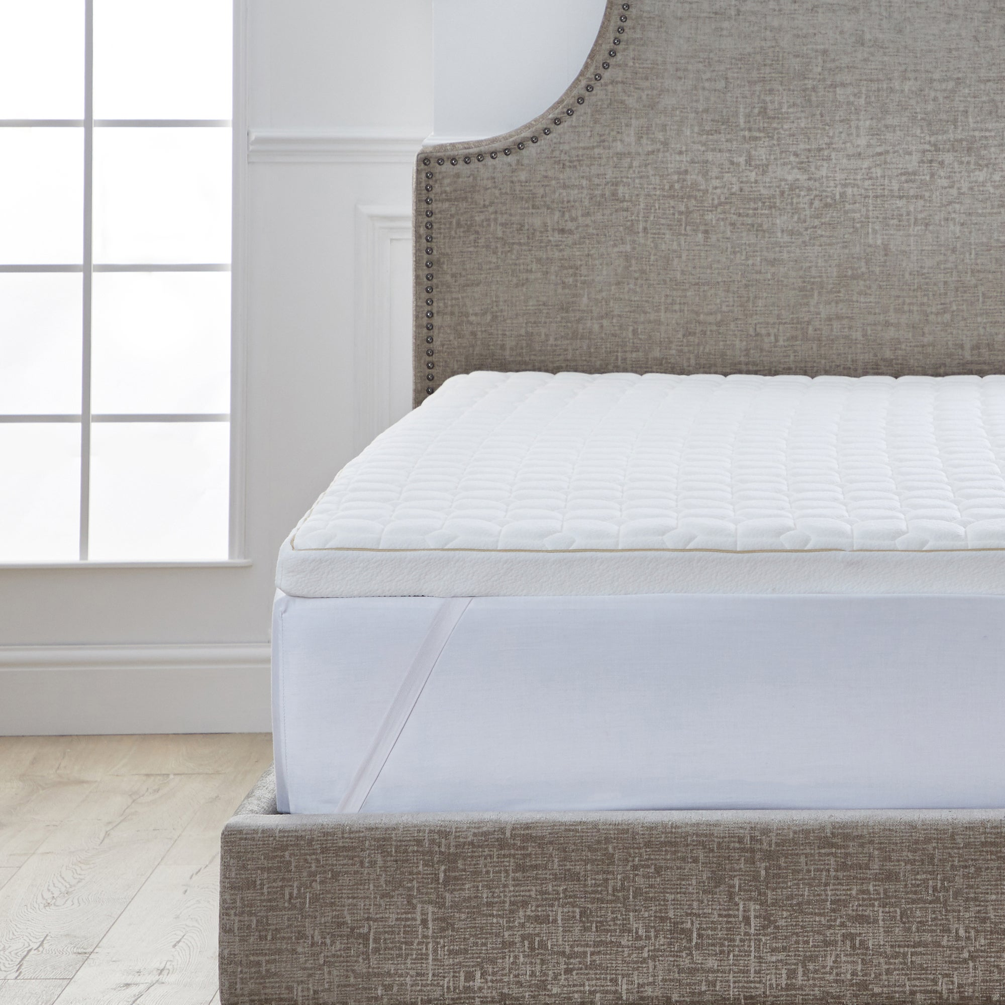 Dorma Tencel Blend Memory Foam Mattress Topper Dunelm