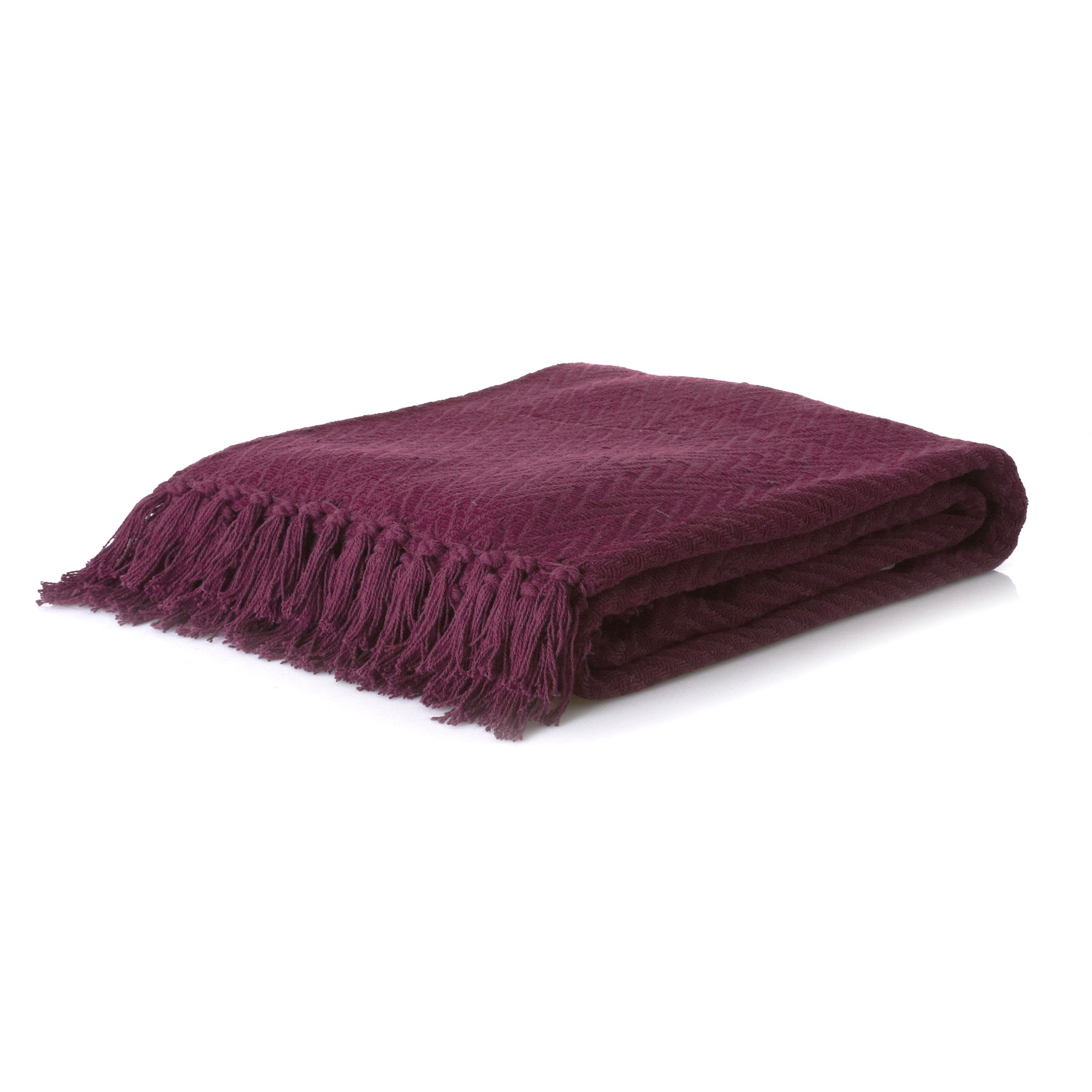 Chenille Herringbone Throw