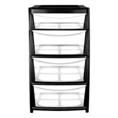 4 Drawer Large Storage Tower