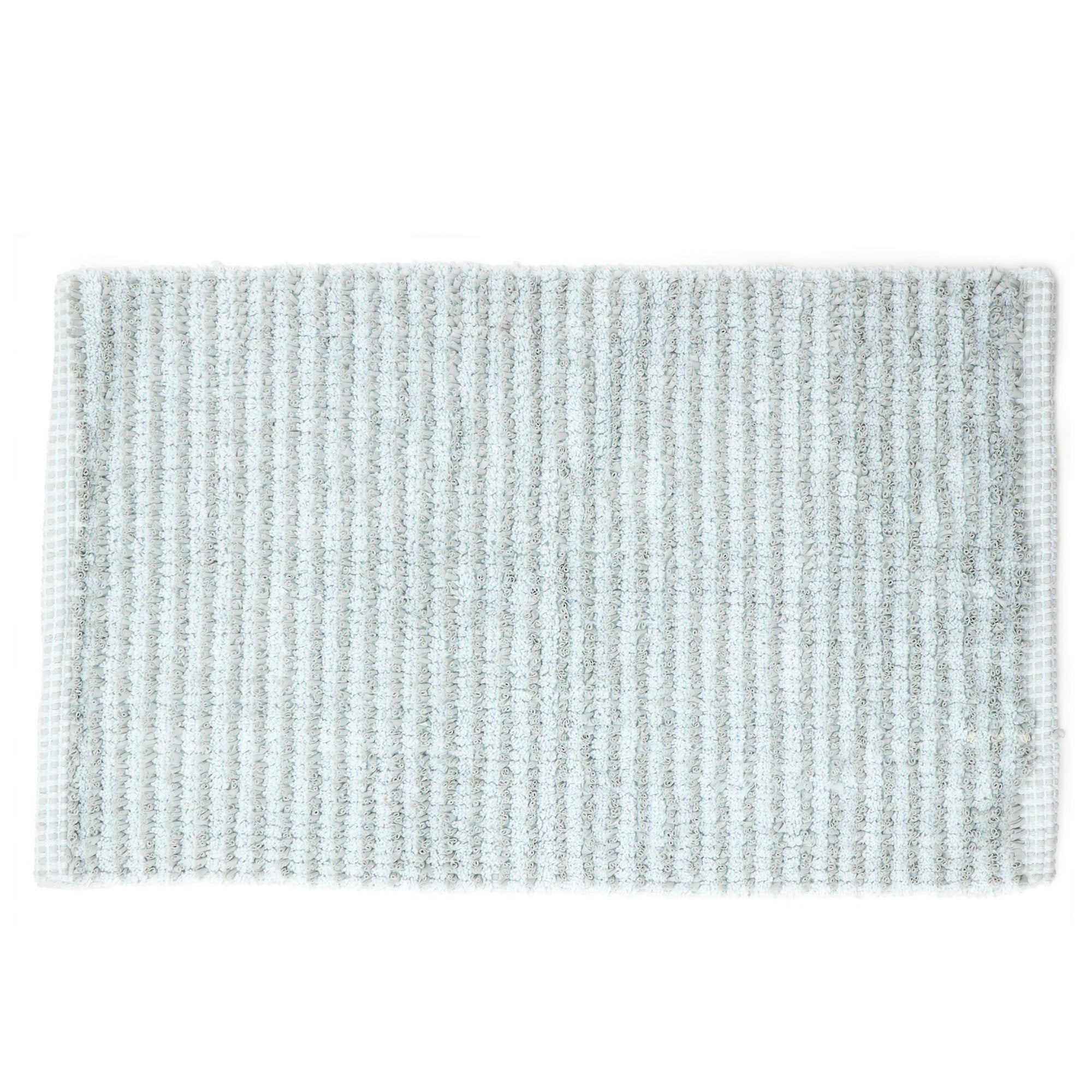 Chindi Rose Stripe Bath Mat