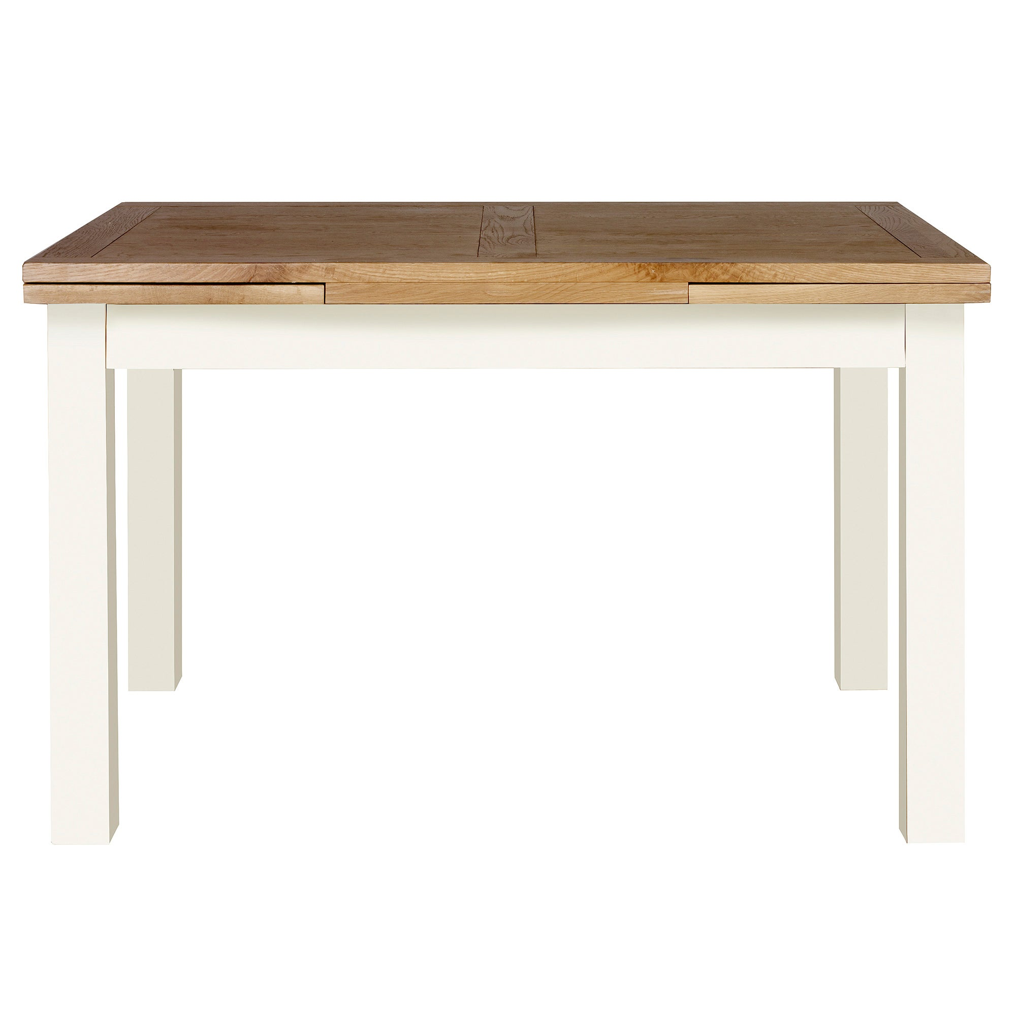 Penzance Oak Two Tone Extending Dining Table