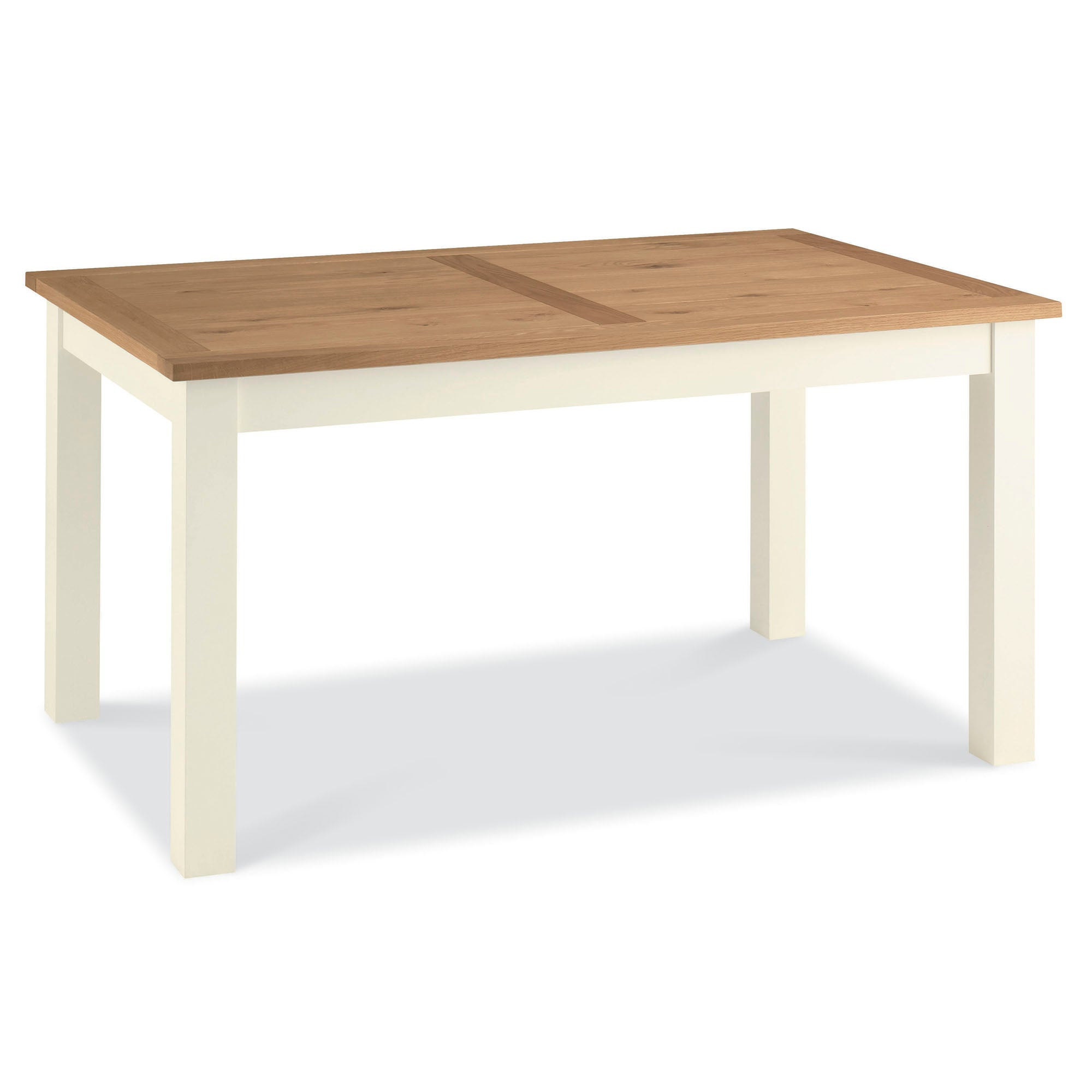 Penzance Oak Two Tone 6 Seater Dining Table
