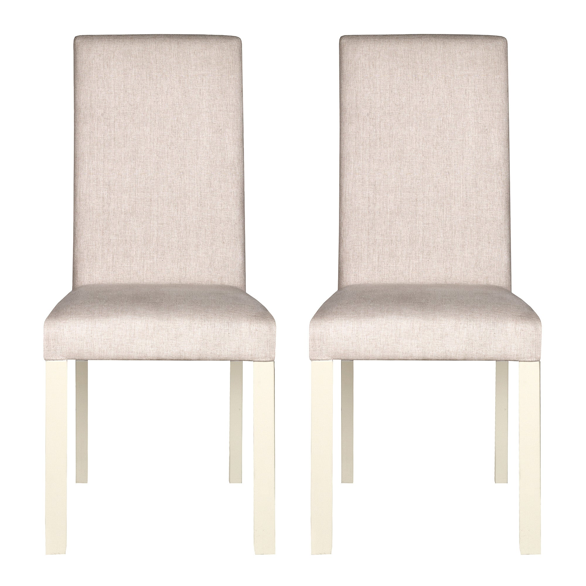 Penzance Oak Two Tone Pair of Upholstered Chairs