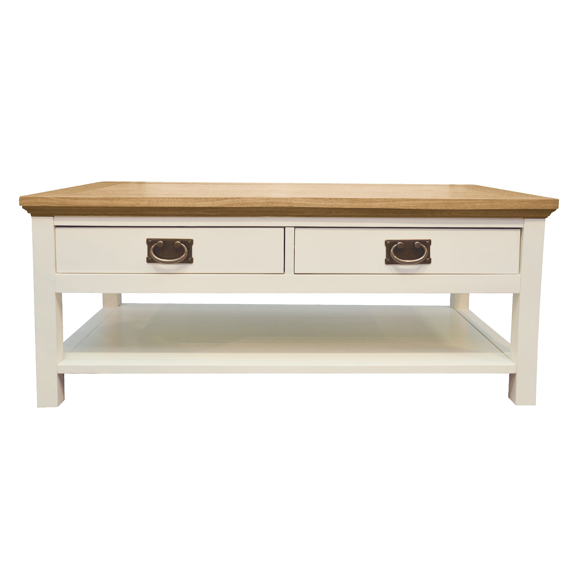 Penzance Oak Two Tone Coffee Table