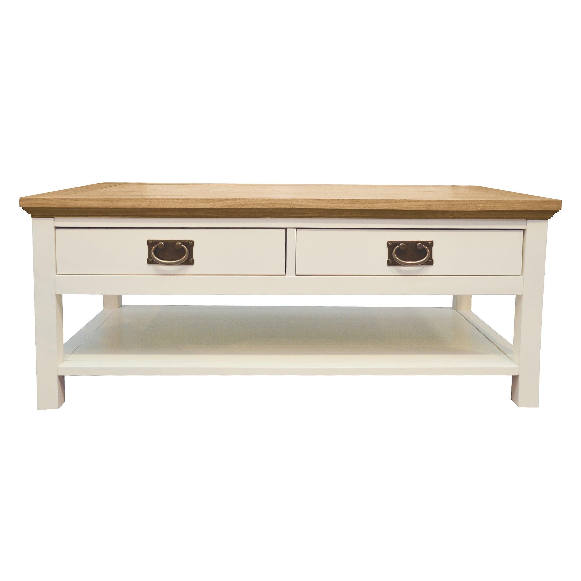 Penzance Oak Two Tone Coffee Table