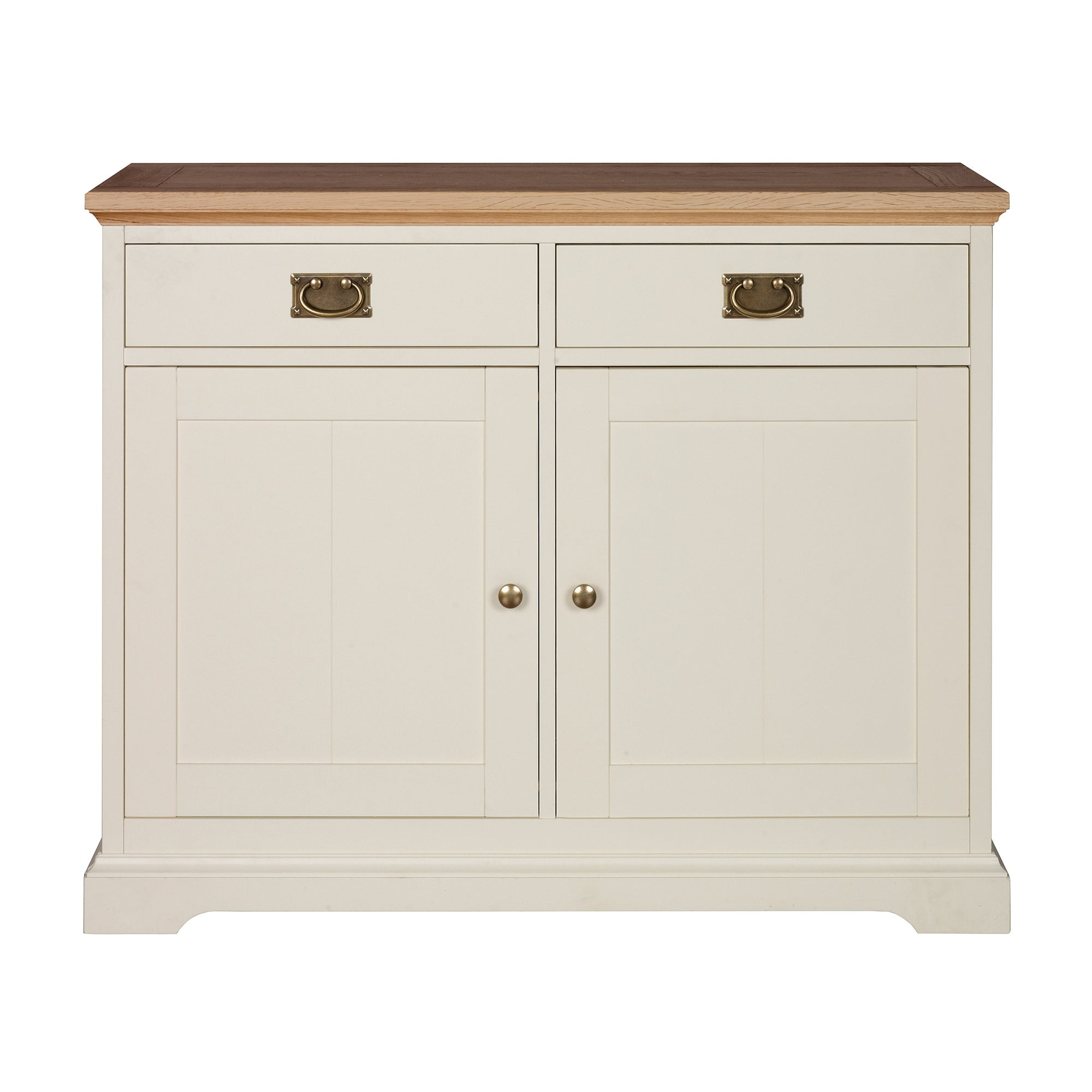 Penzance Oak Two Tone Narrow Sideboard