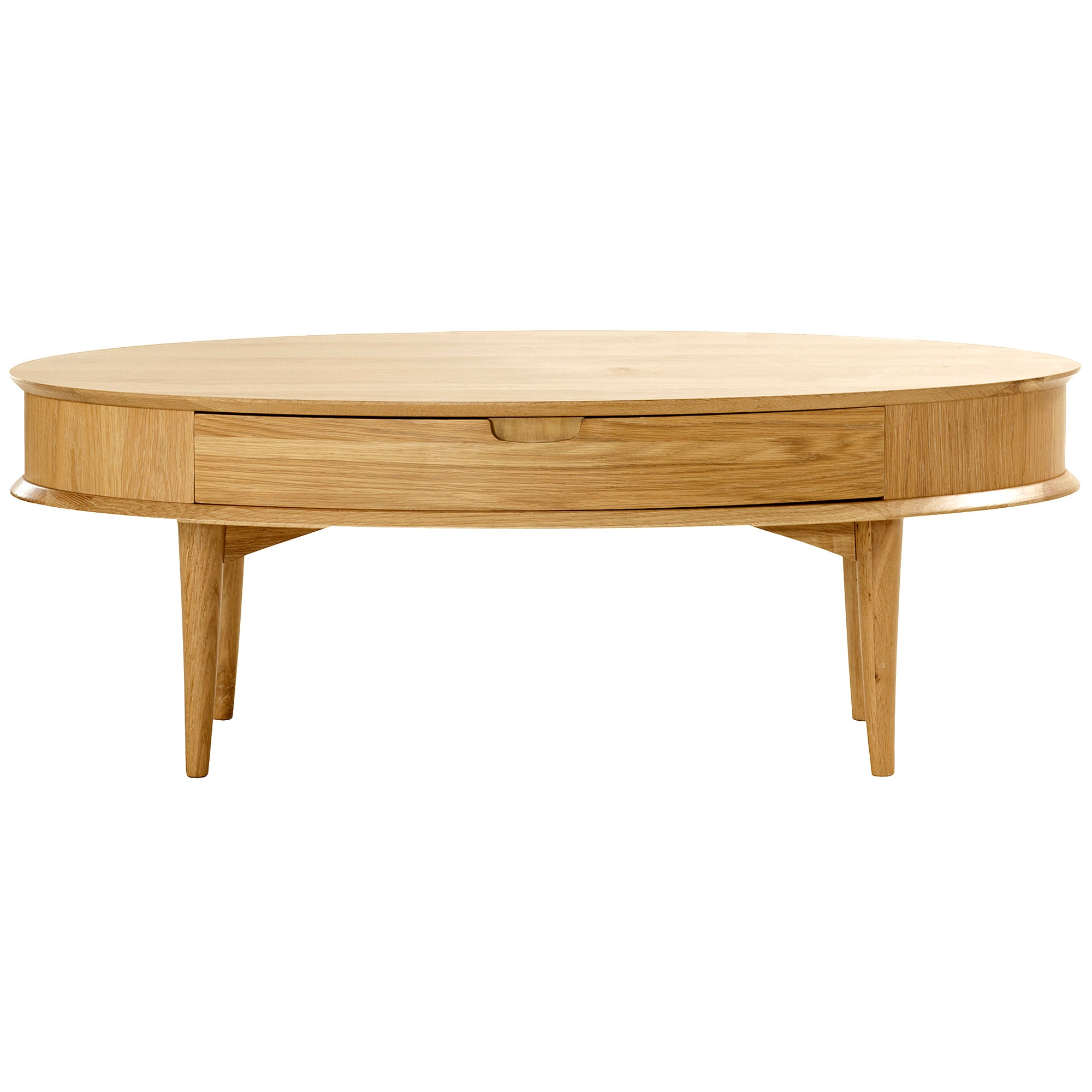 Skandi Oak Coffee Table with Drawer