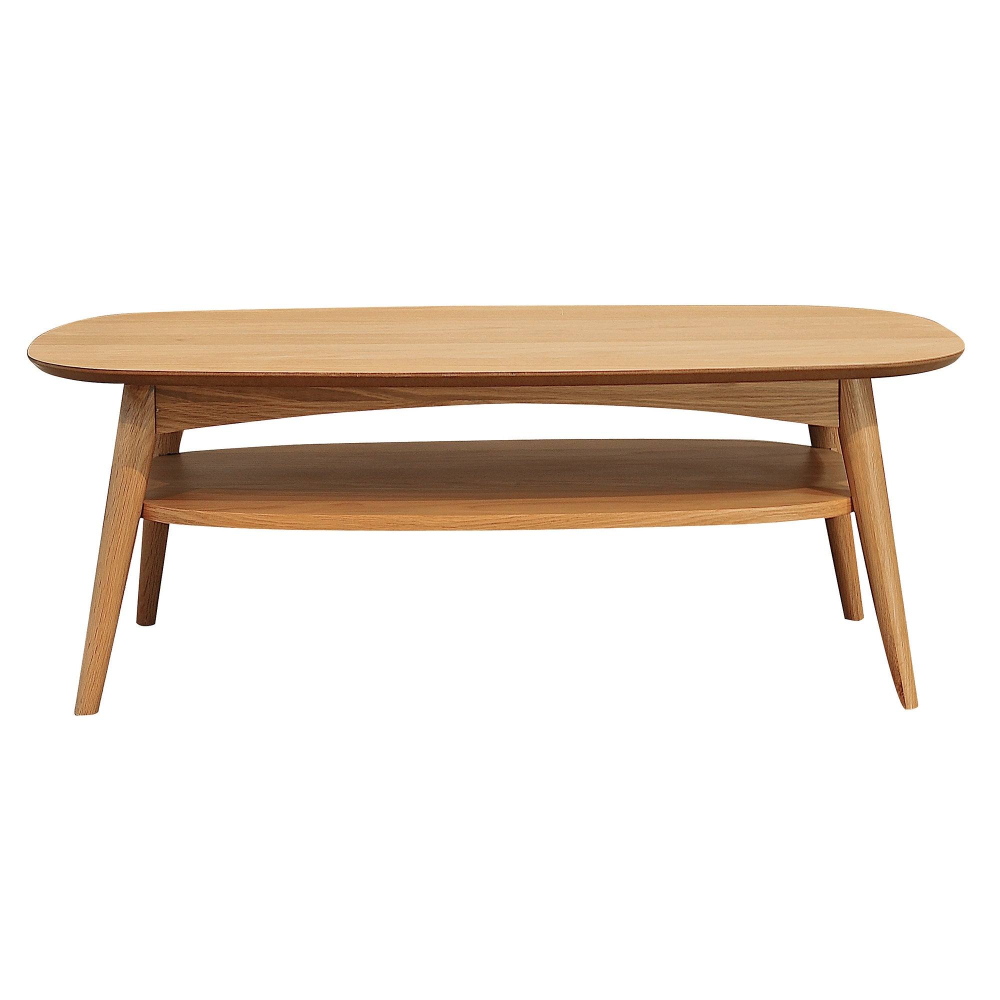 Skandi Oak Coffee Table with Shelf