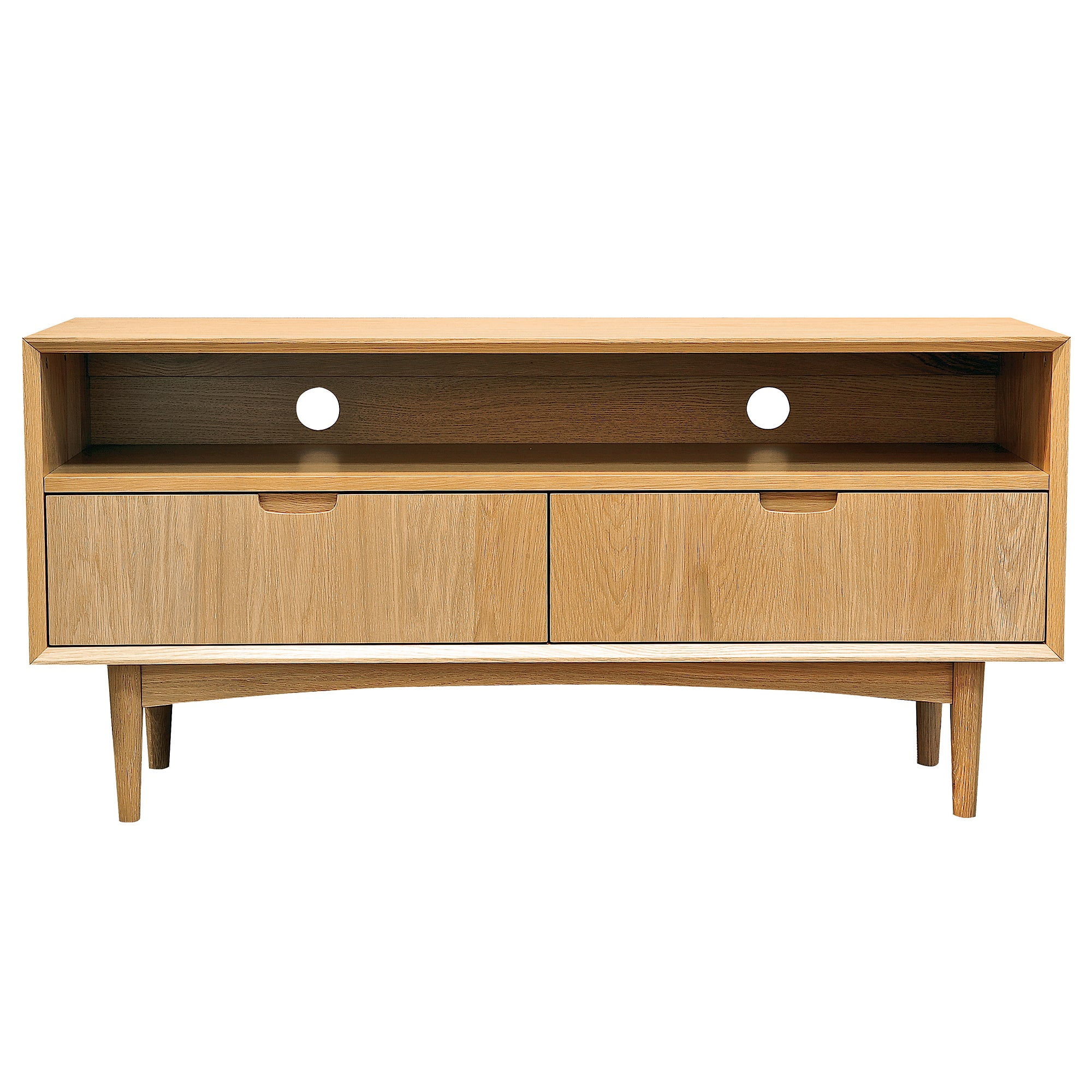 Skandi Oak Entertainment Unit
