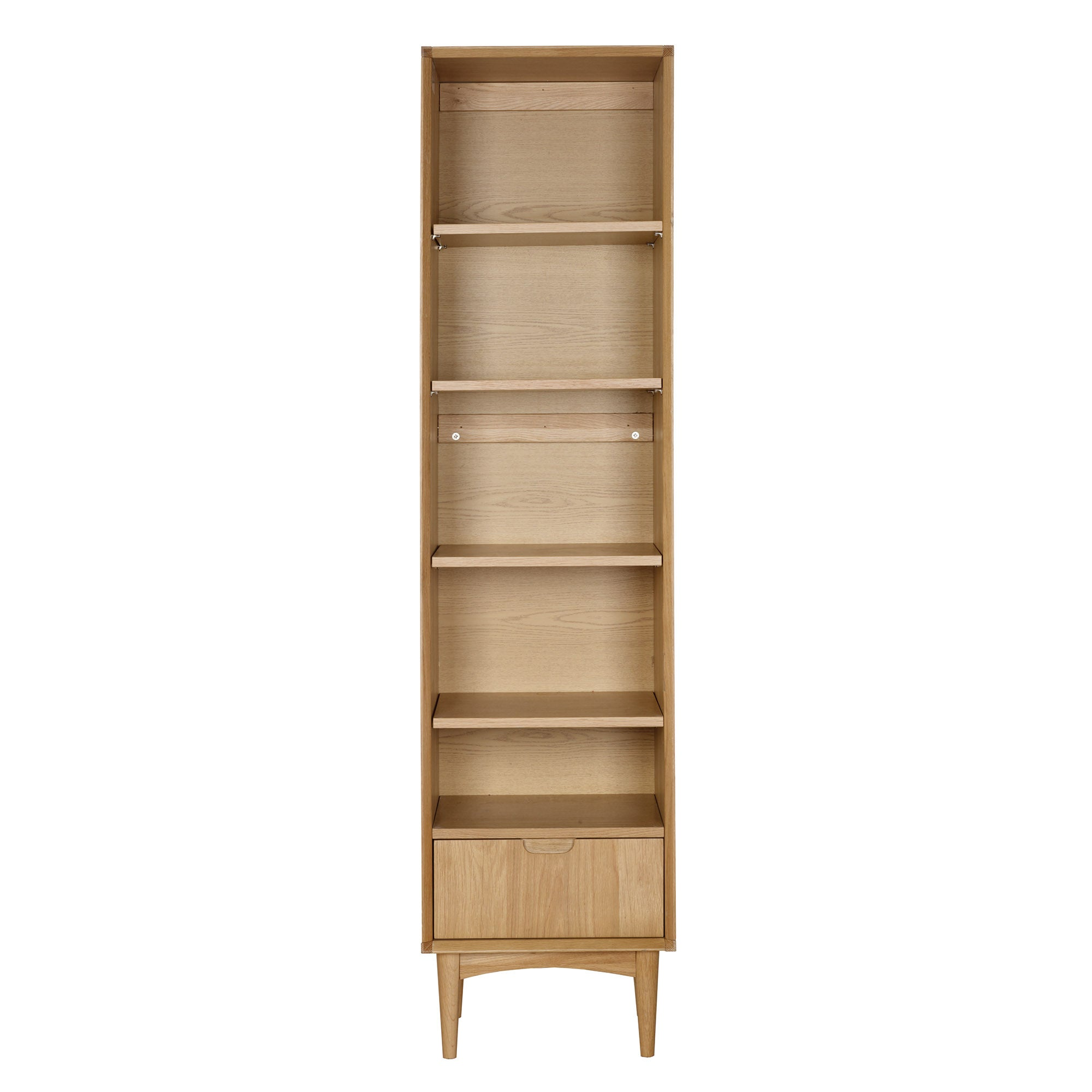 Skandi Oak Narrow Bookcase