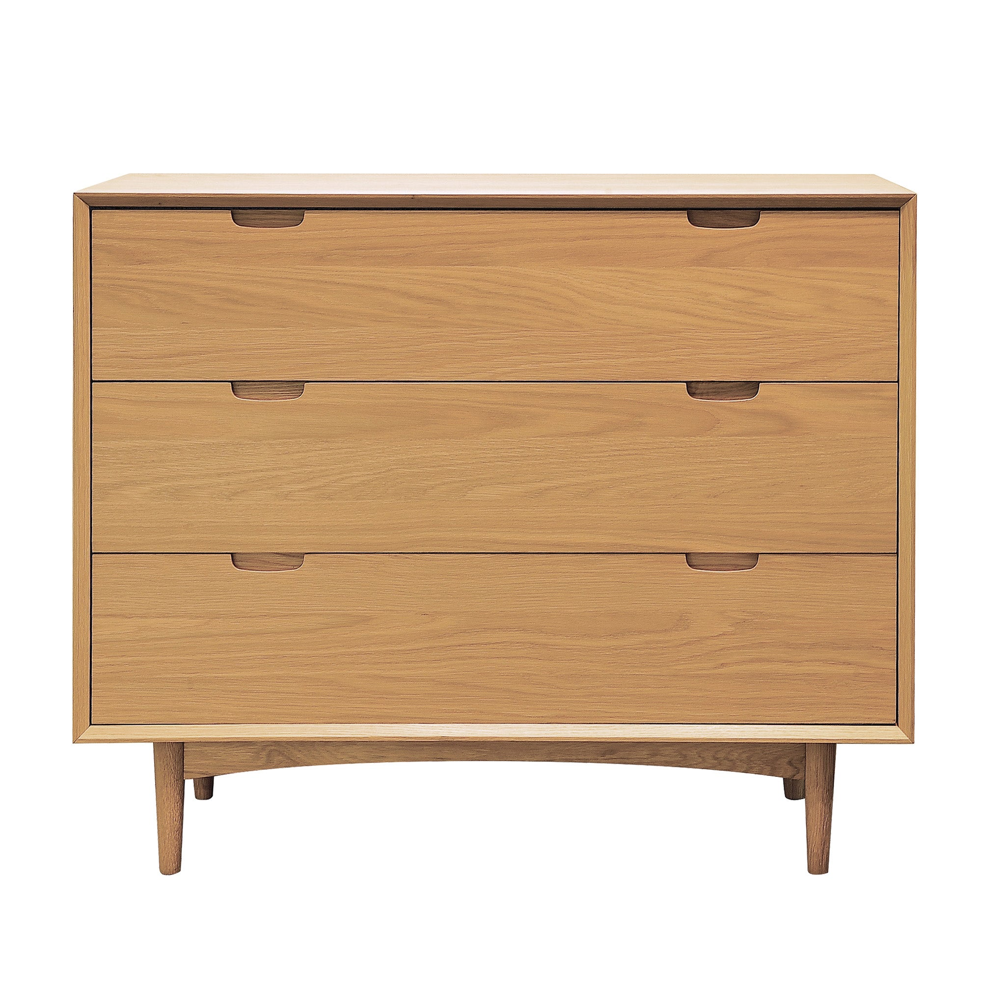 Skandi Oak 3 Drawer Wide Chest