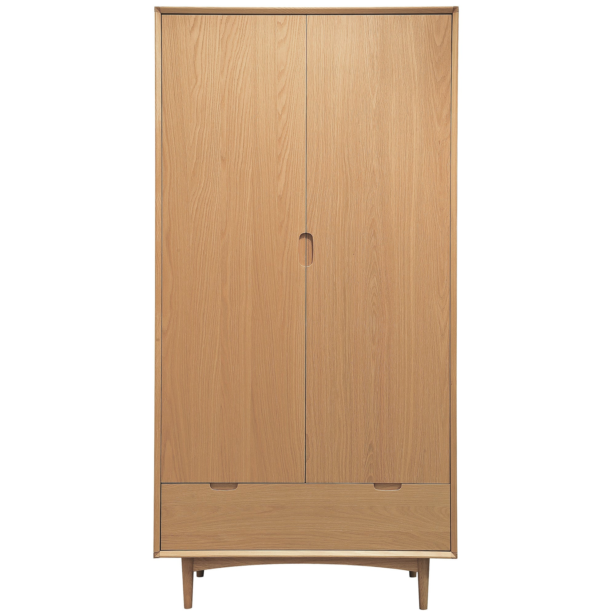 Skandi Oak Double Wardrobe
