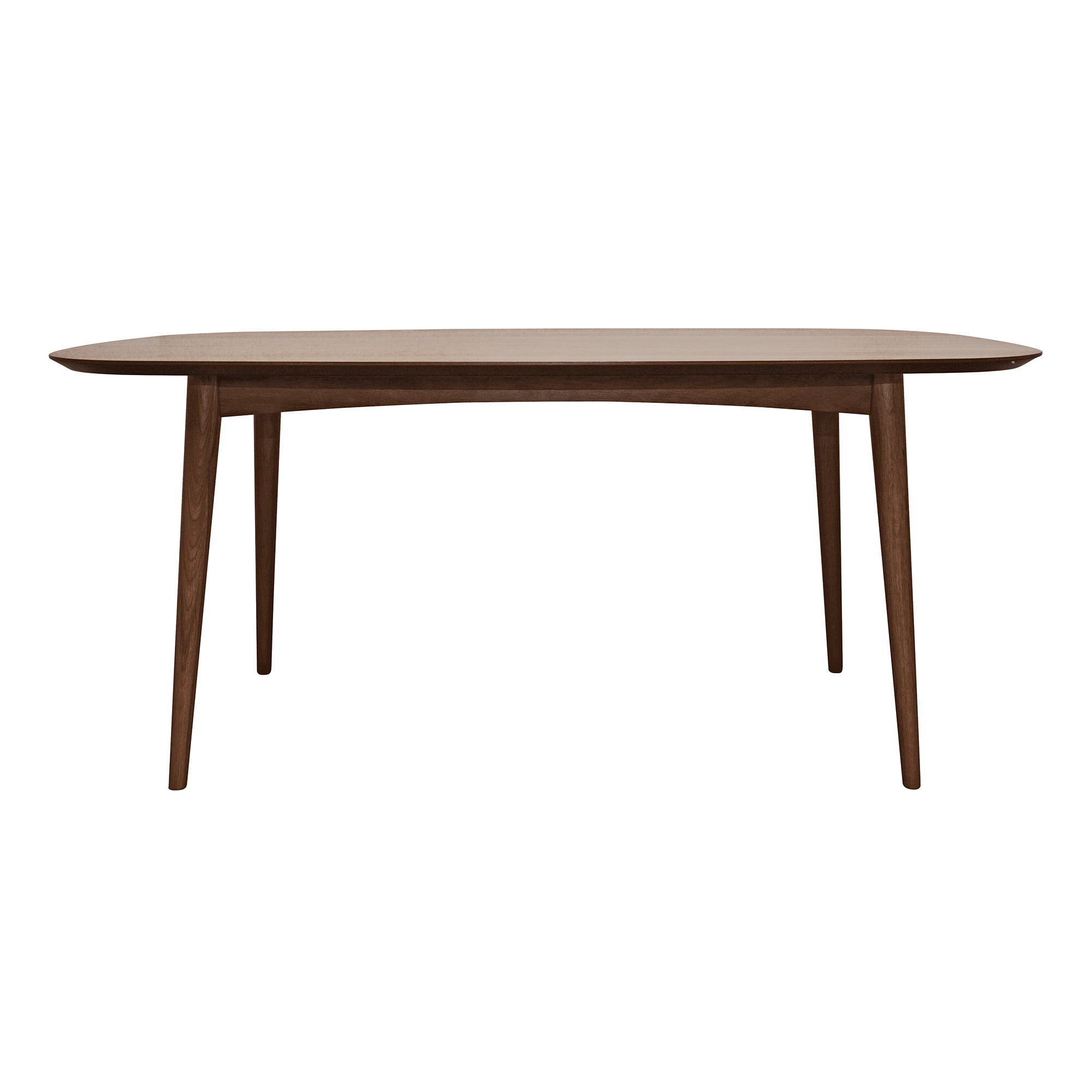Skandi Walnut 6 Seater Dining Table
