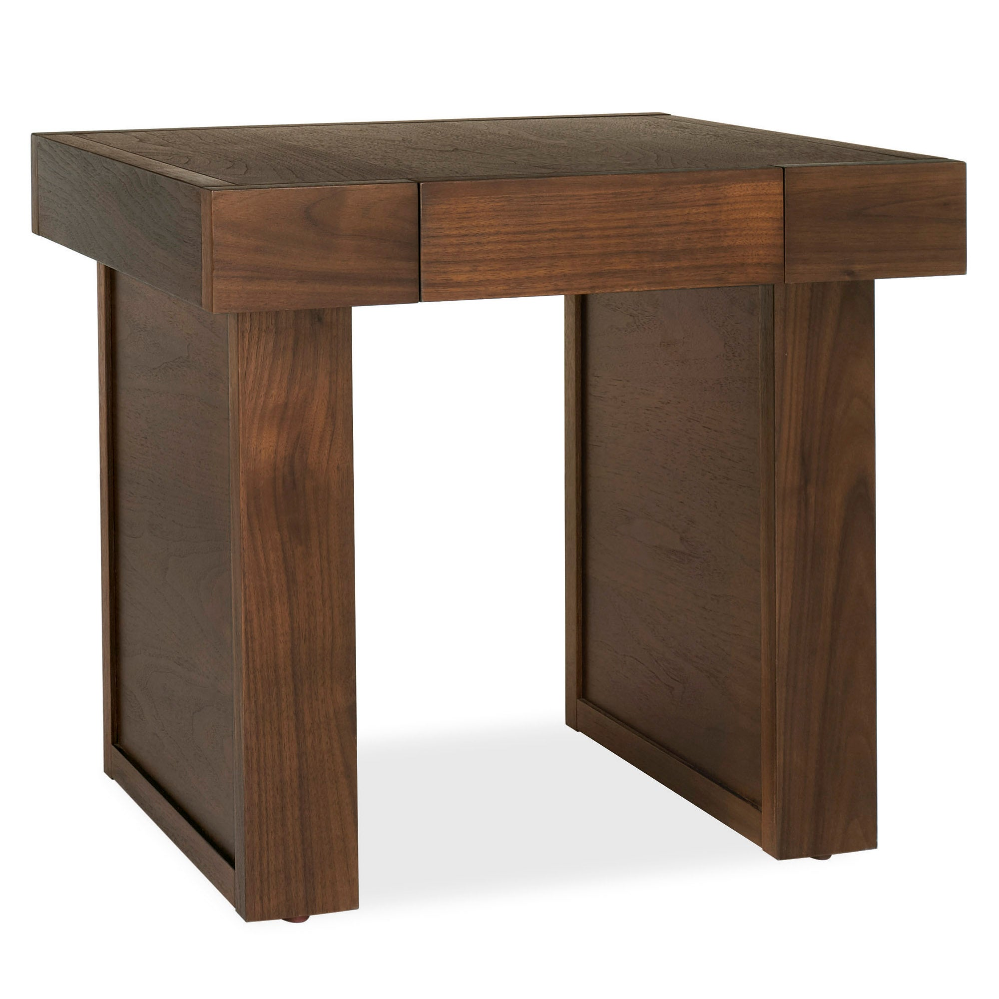 Wade Walnut Lamp Table