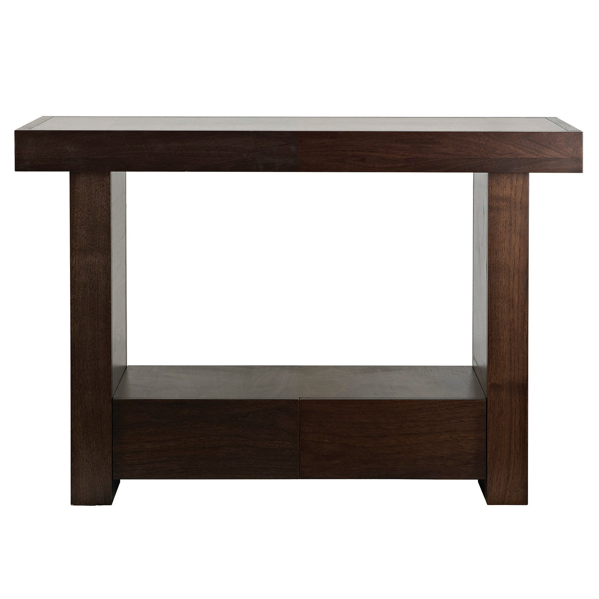 Wade Walnut Console Table
