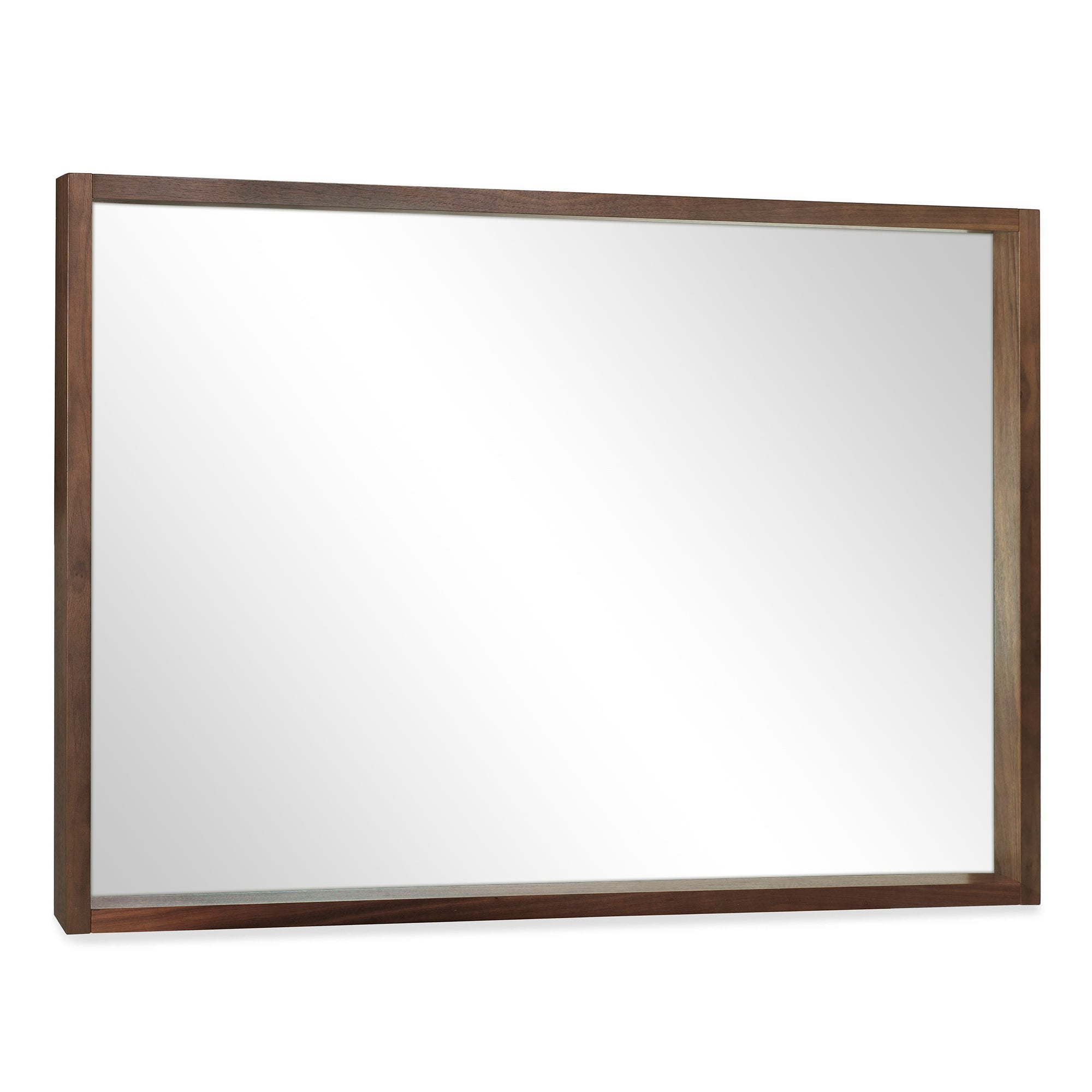Wade Walnut Wall Mirror