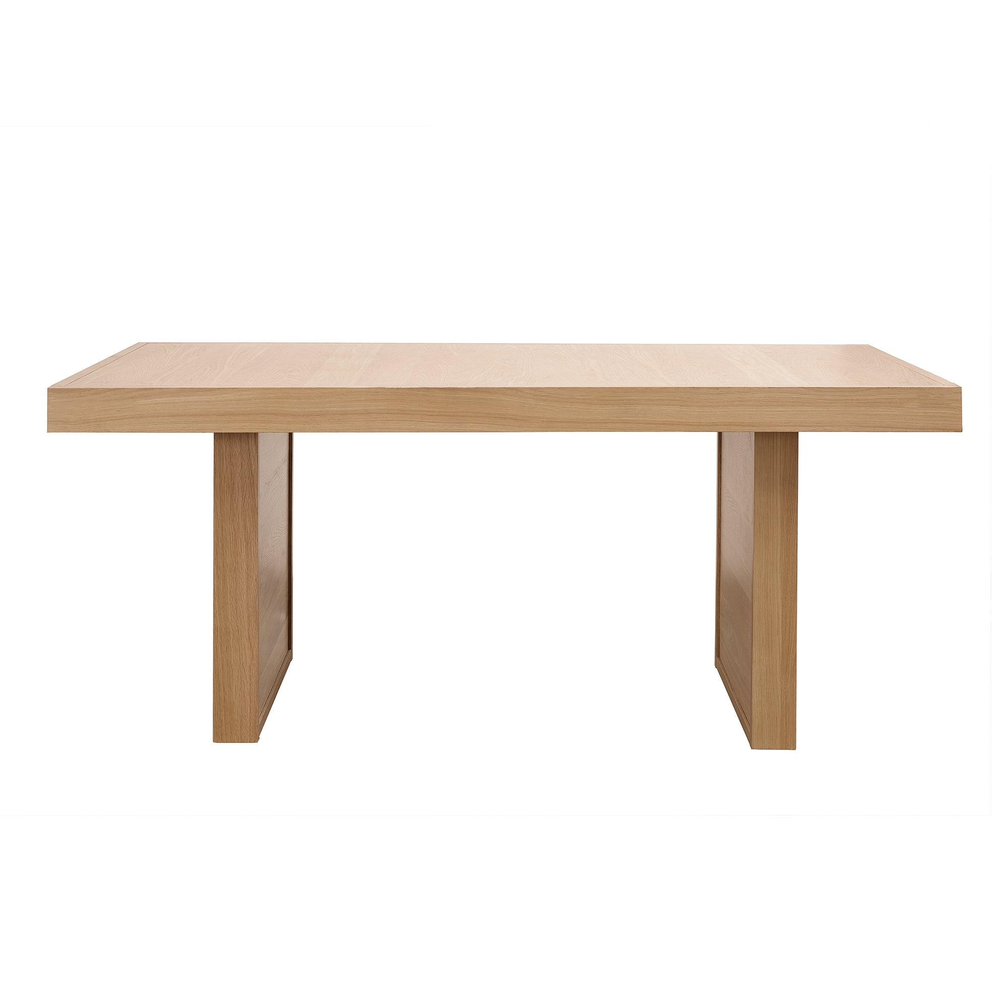 Wade Oak Large Extending Dining Table