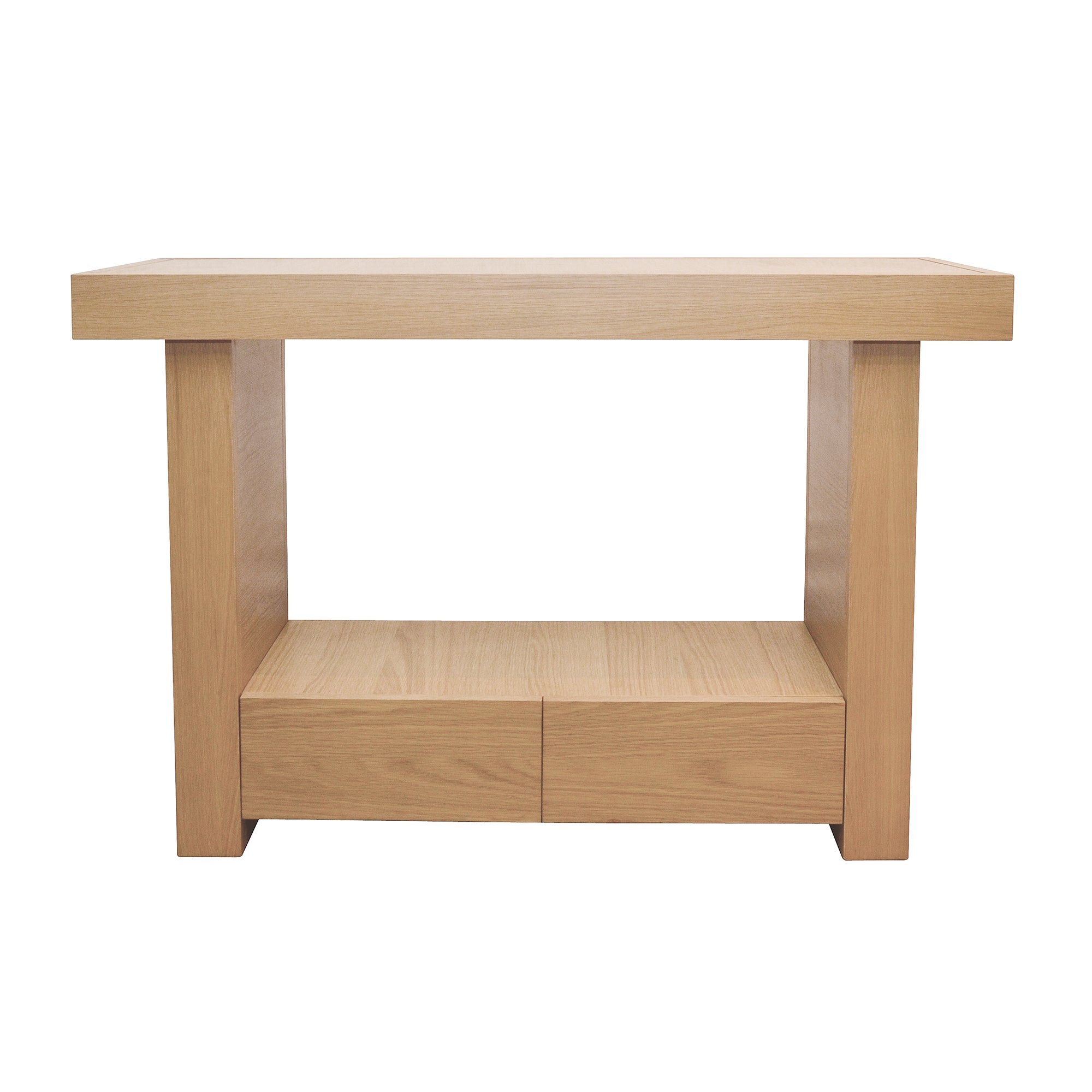 Wade Oak Console Table