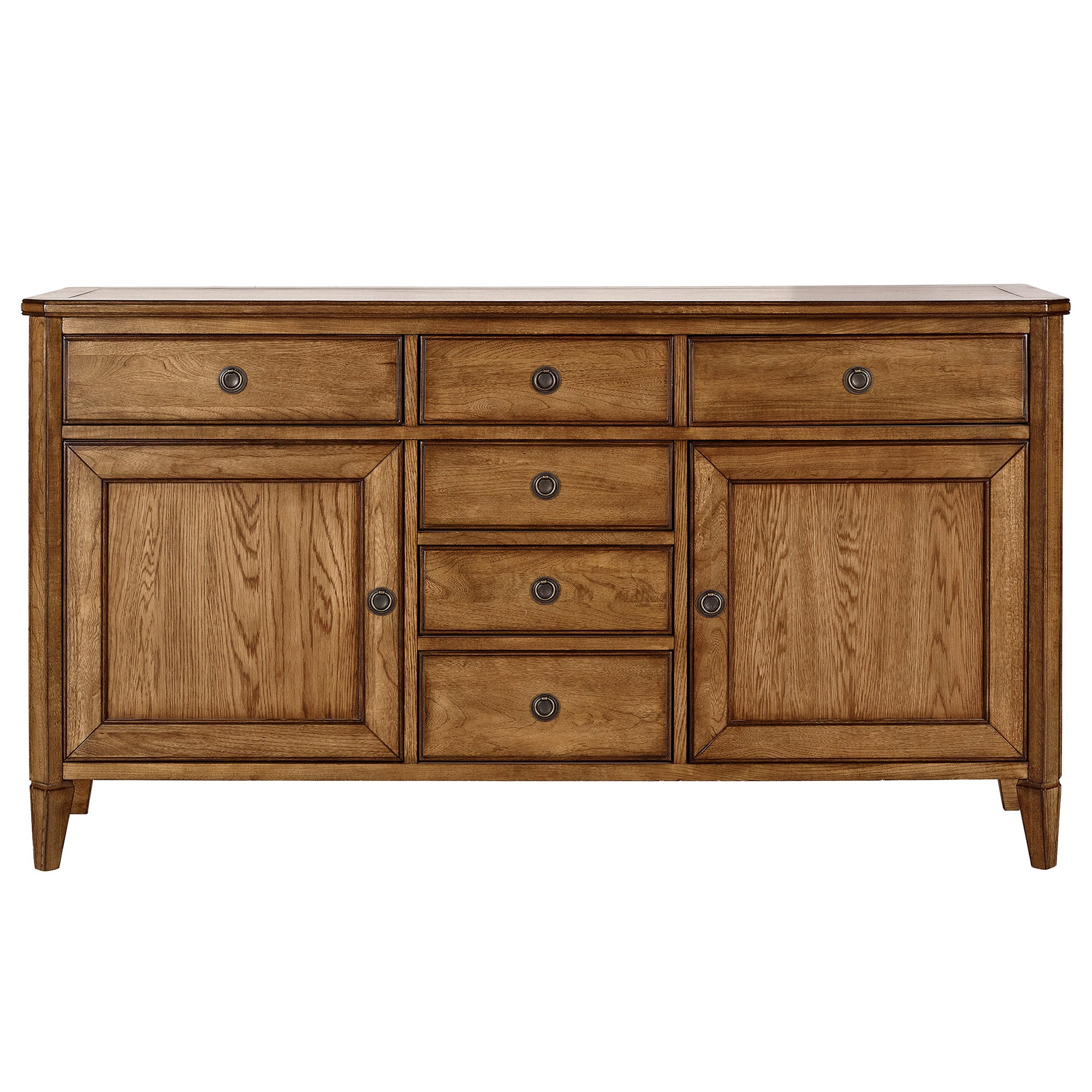Madeline Oak Wide Sideboard