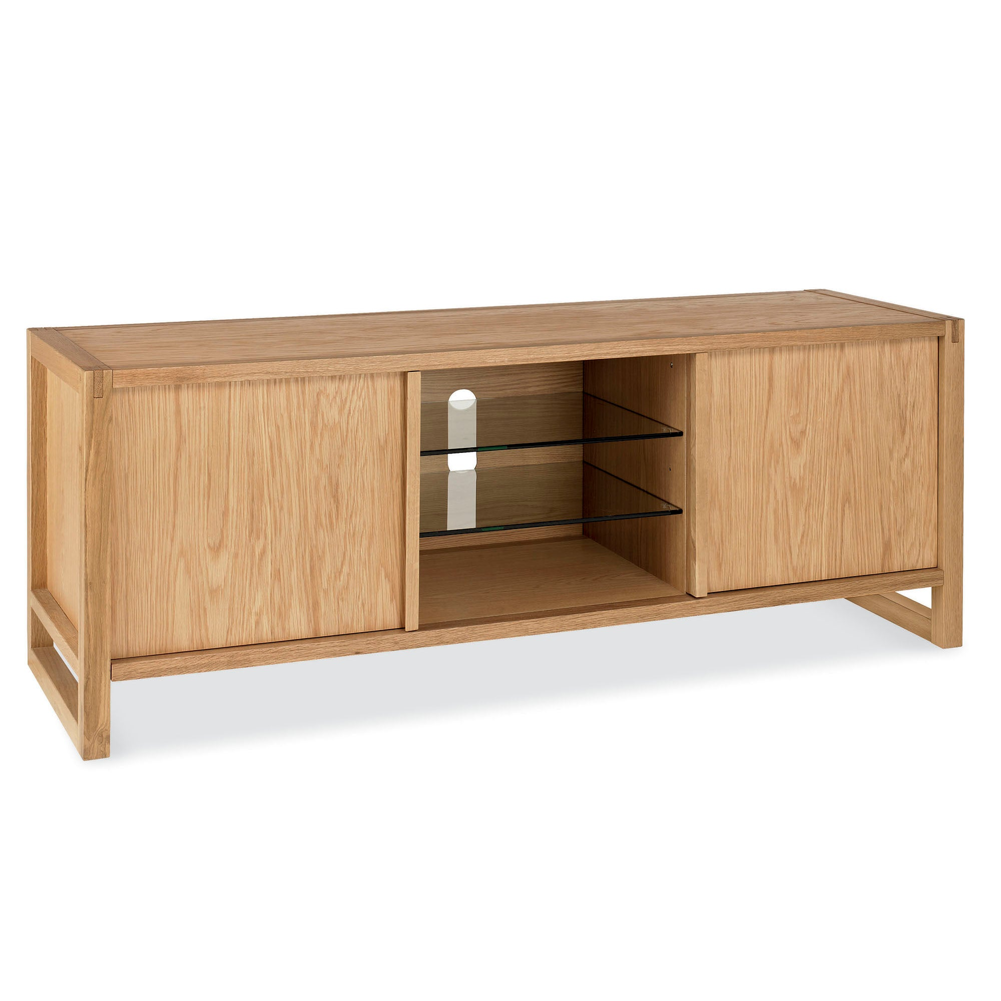Edison Oak TV Unit