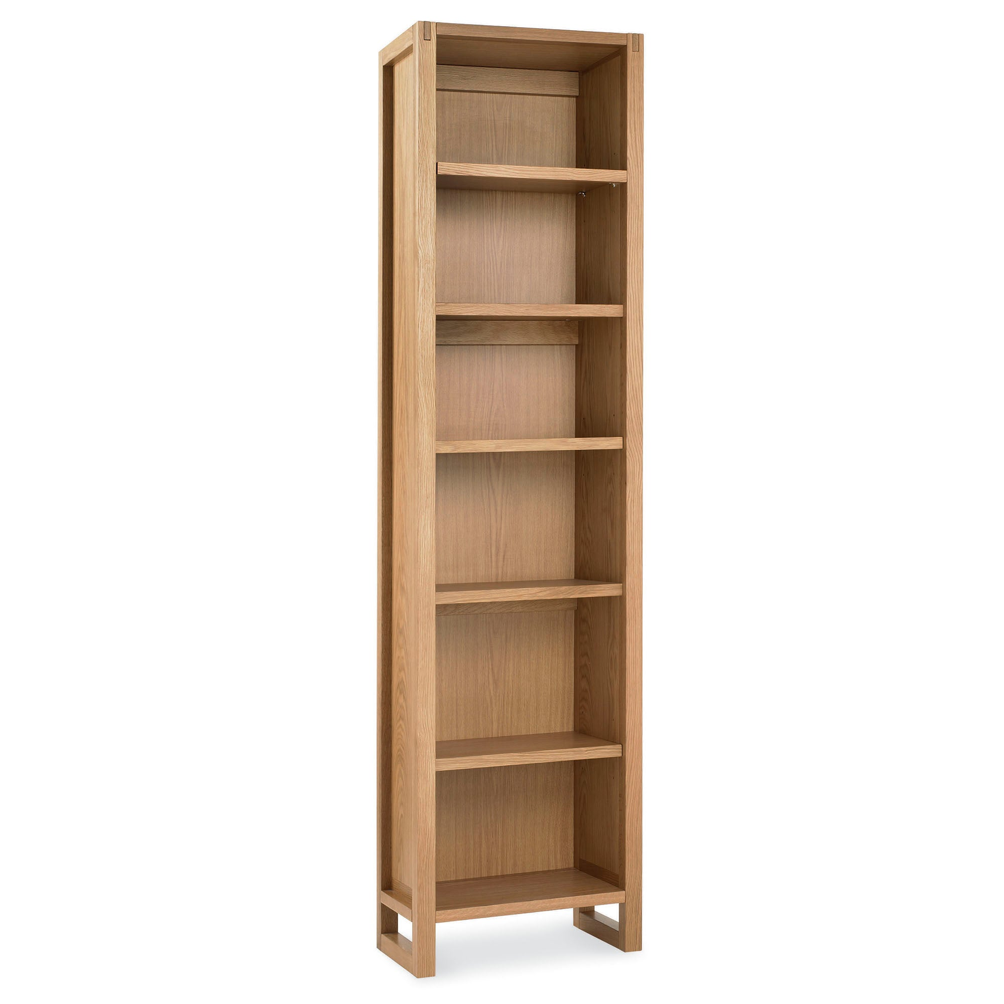 Edison Oak Single Bookcase