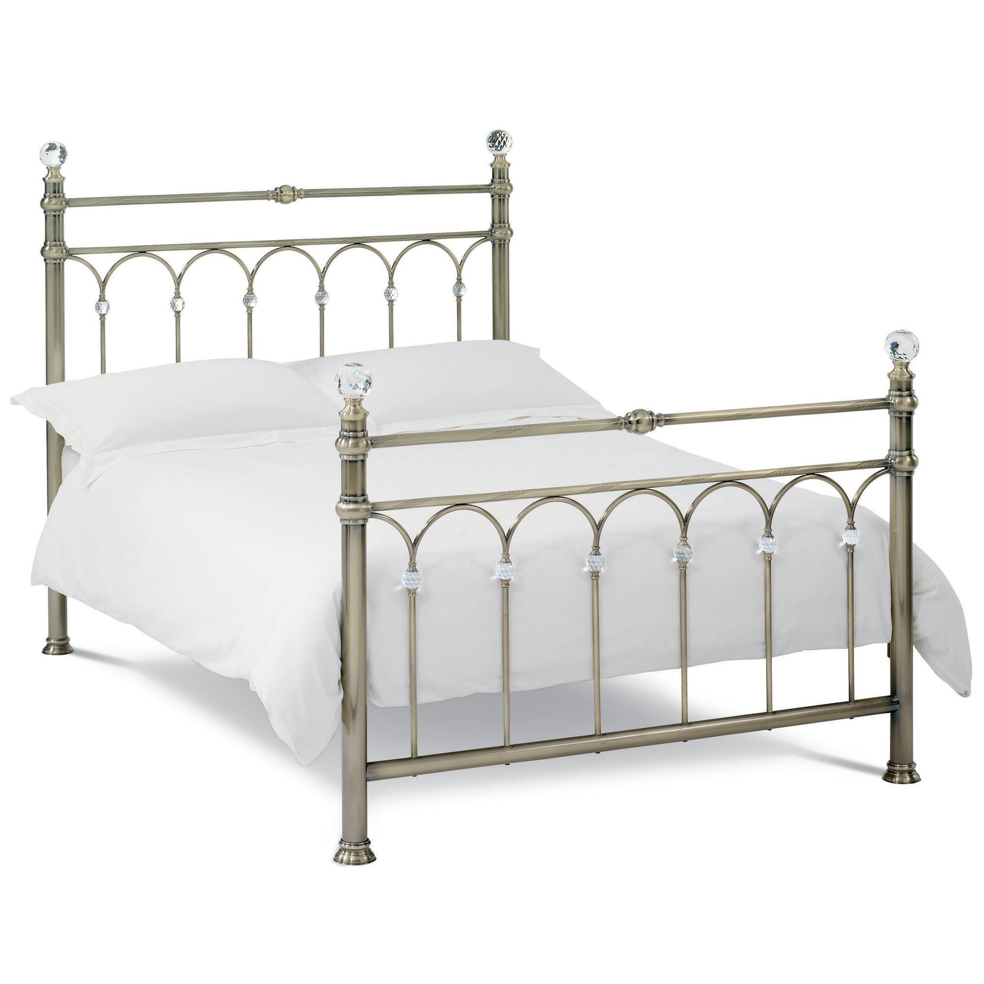 Carrington Antique Brass Bedstead