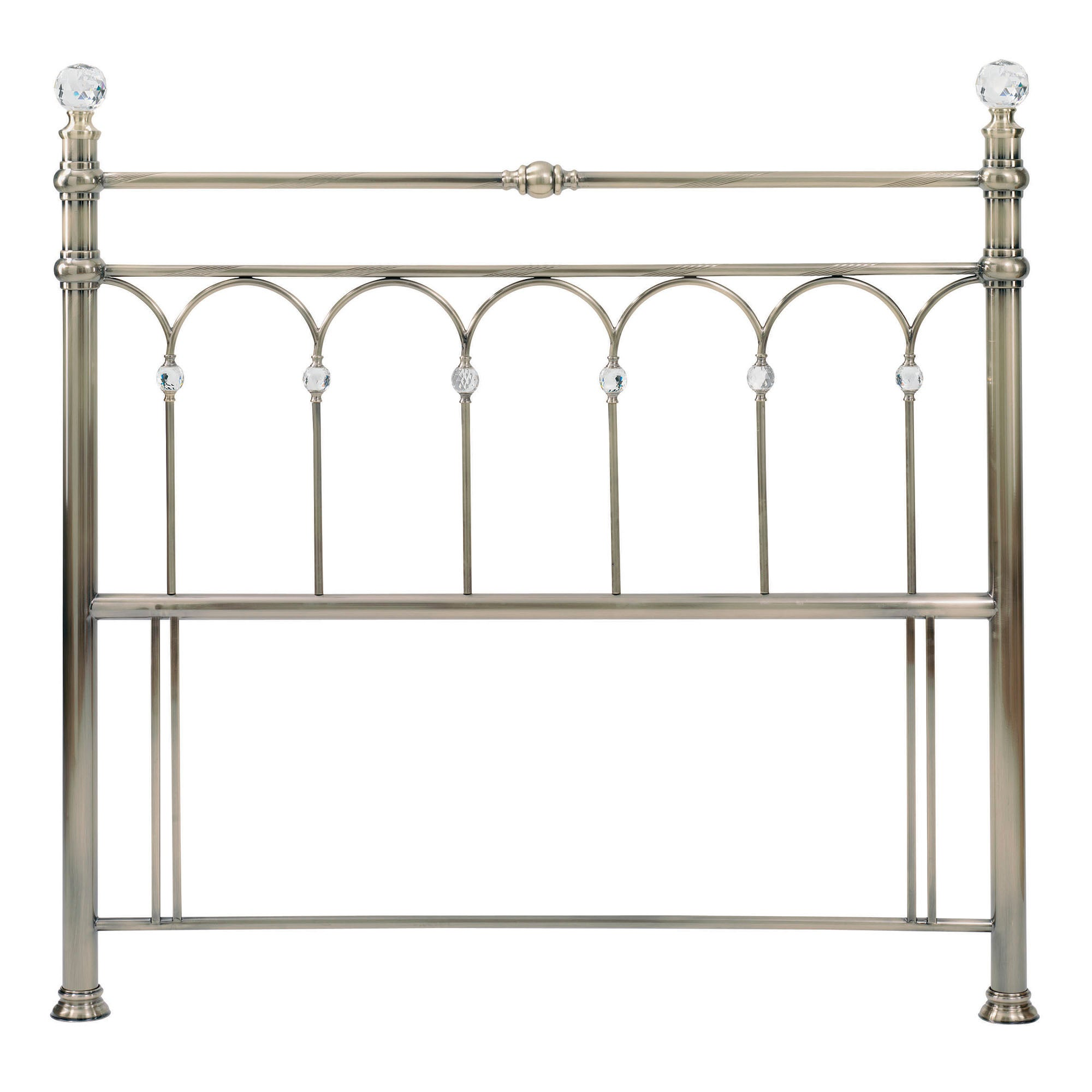 Carrington Antique Brass Headboard