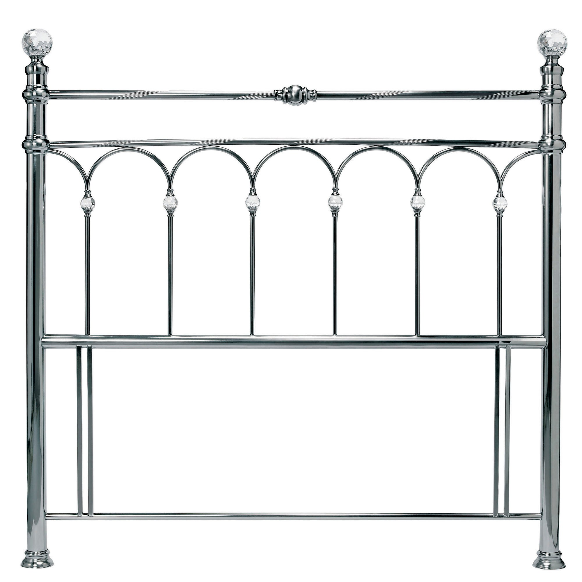 Carrington Nickel Headboard