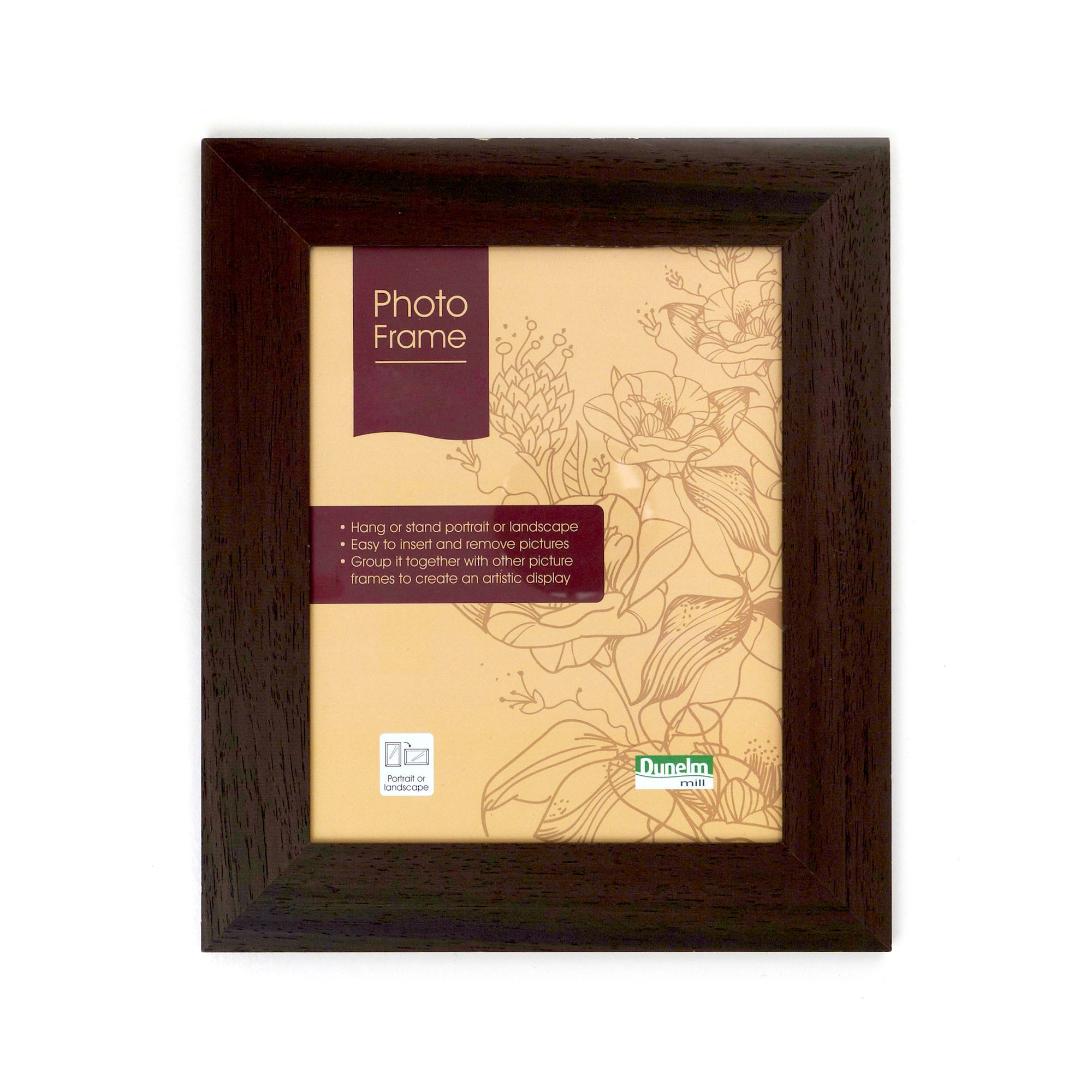 Chocolate Natural Wood Photo Frame