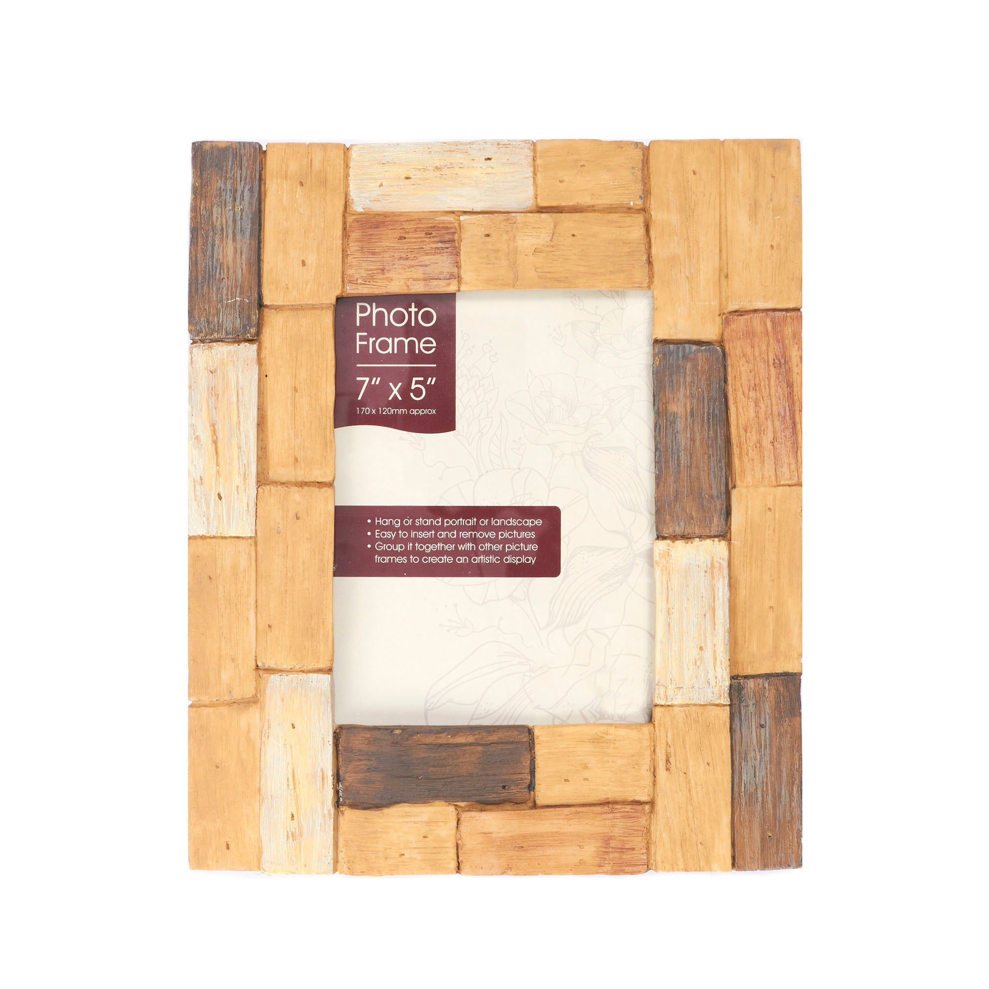 Woodland Block Photo Frame