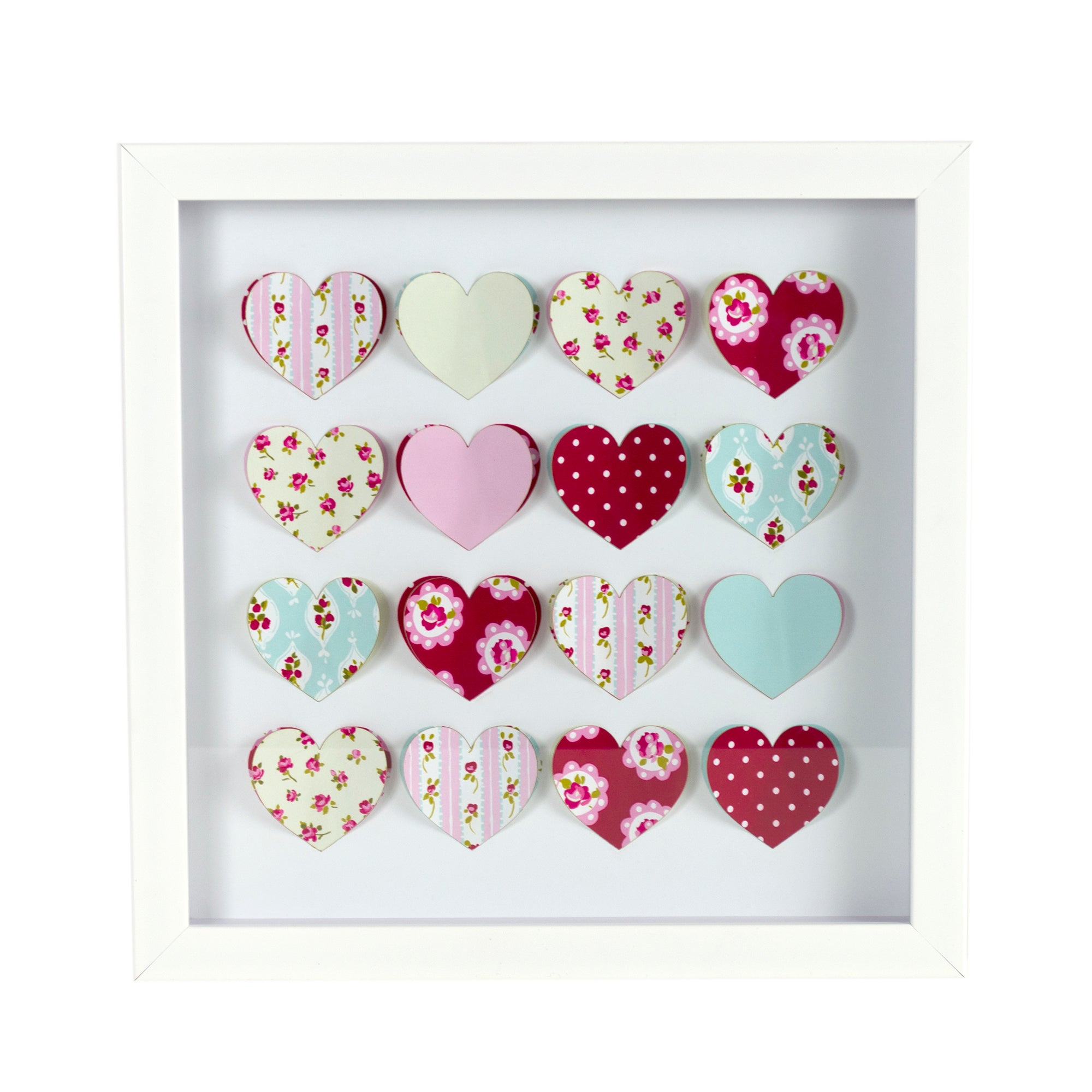 Rose and Ellis Collection 3D Heart Frame