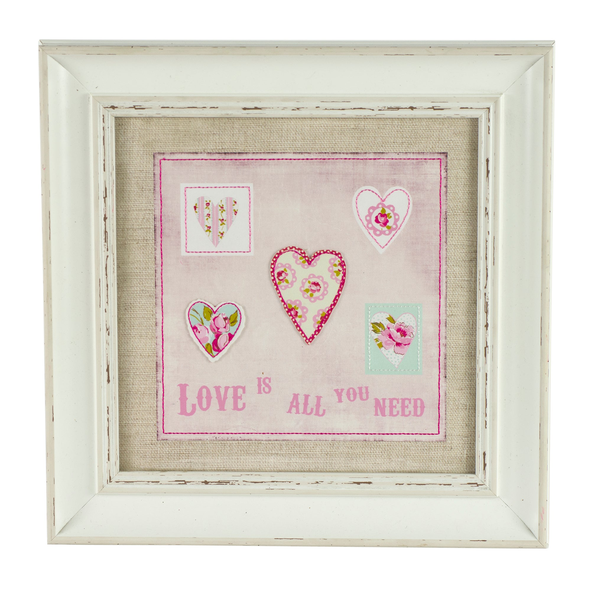 Rose and Ellis Clarendon Collection Framed Heart Picture